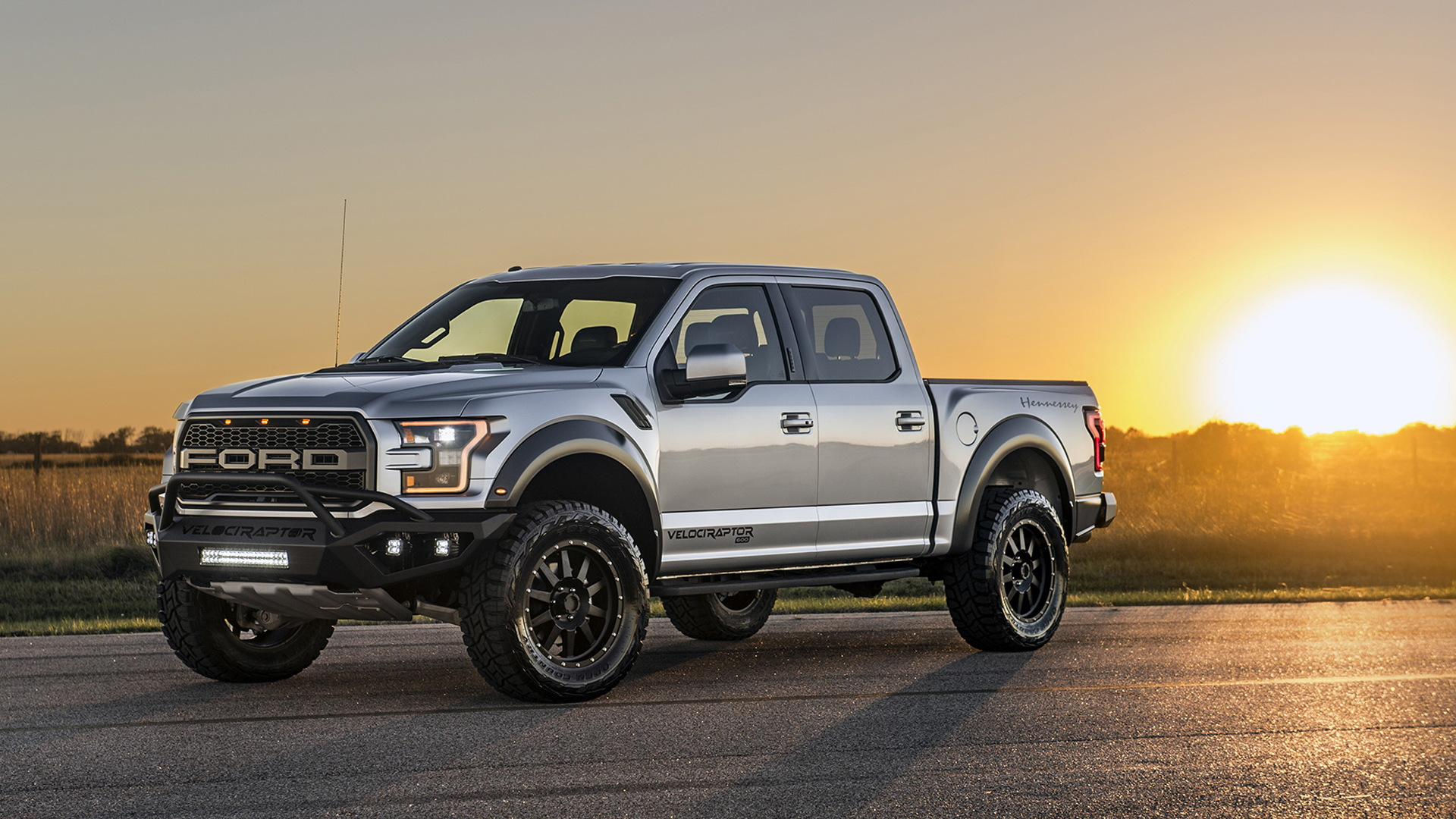 2017 Hennessey VelociRaptor 600 Twin Turbo  based on the Ford F-150 Raptor