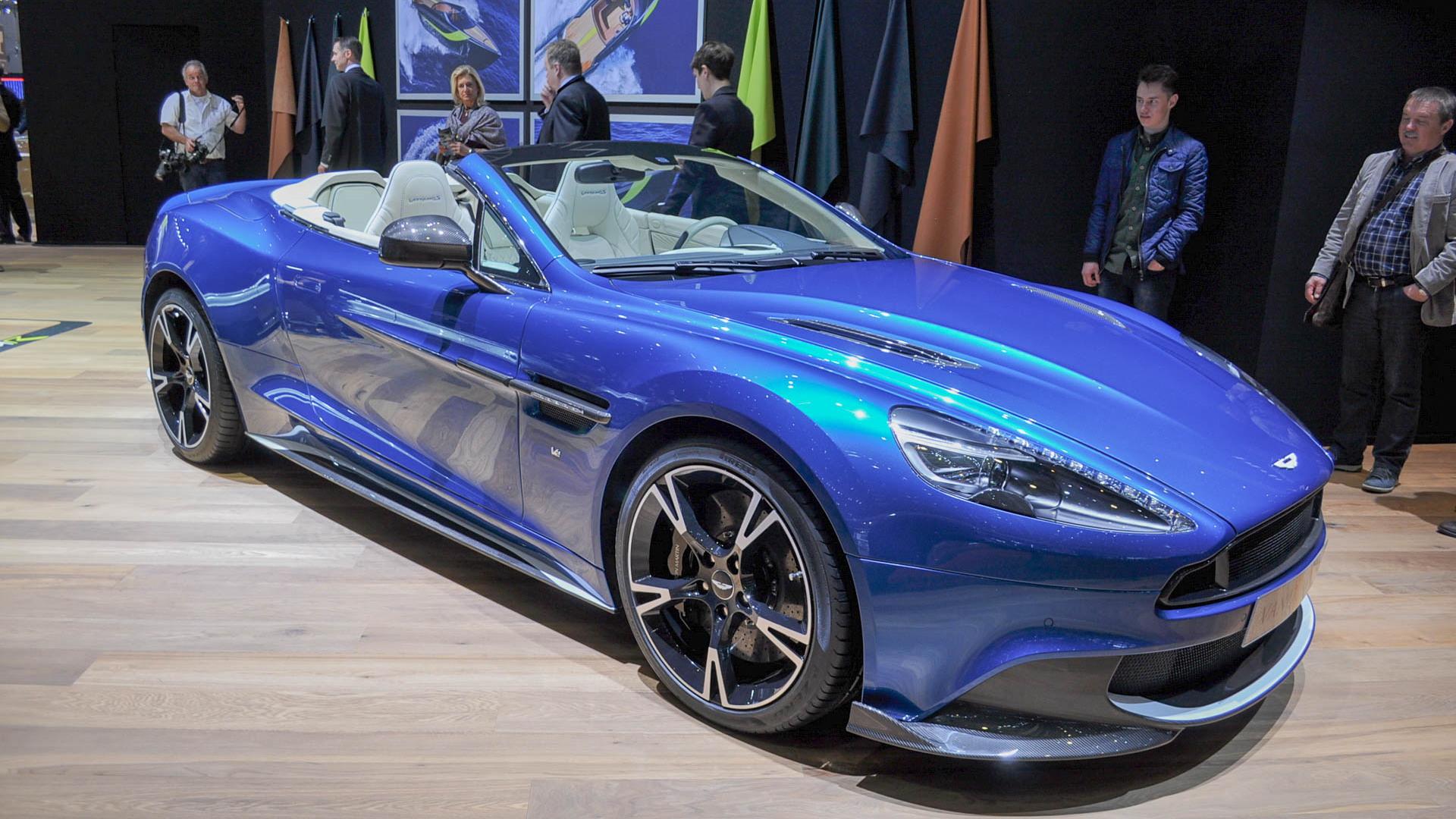 2018 Aston Martin Vanquish S Volante 2017 Geneva Auto Show