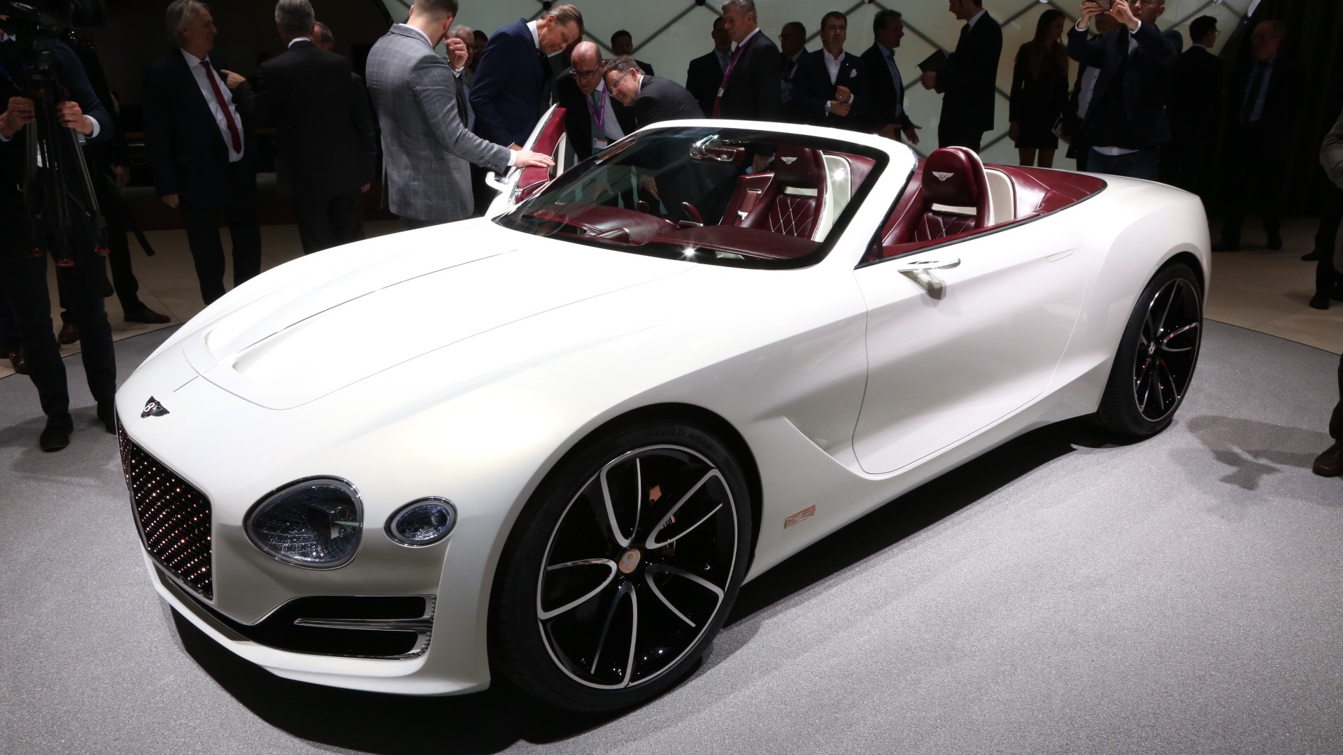 Bentley EXP 12 Speed 6e concept, 2017 Geneva auto show