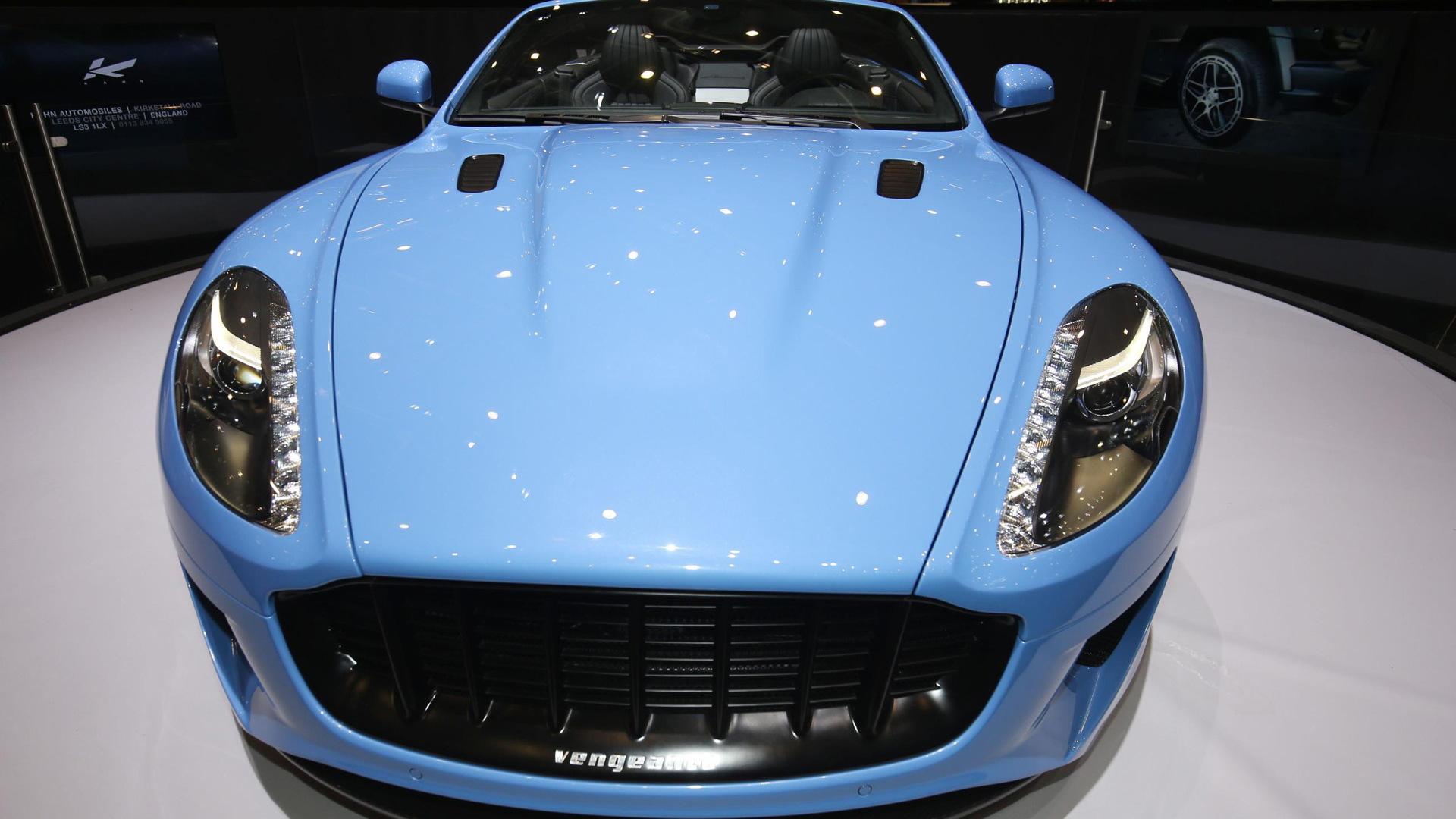 Kahn Design WB12 Vengeance Volante, 2017 Geneva auto show