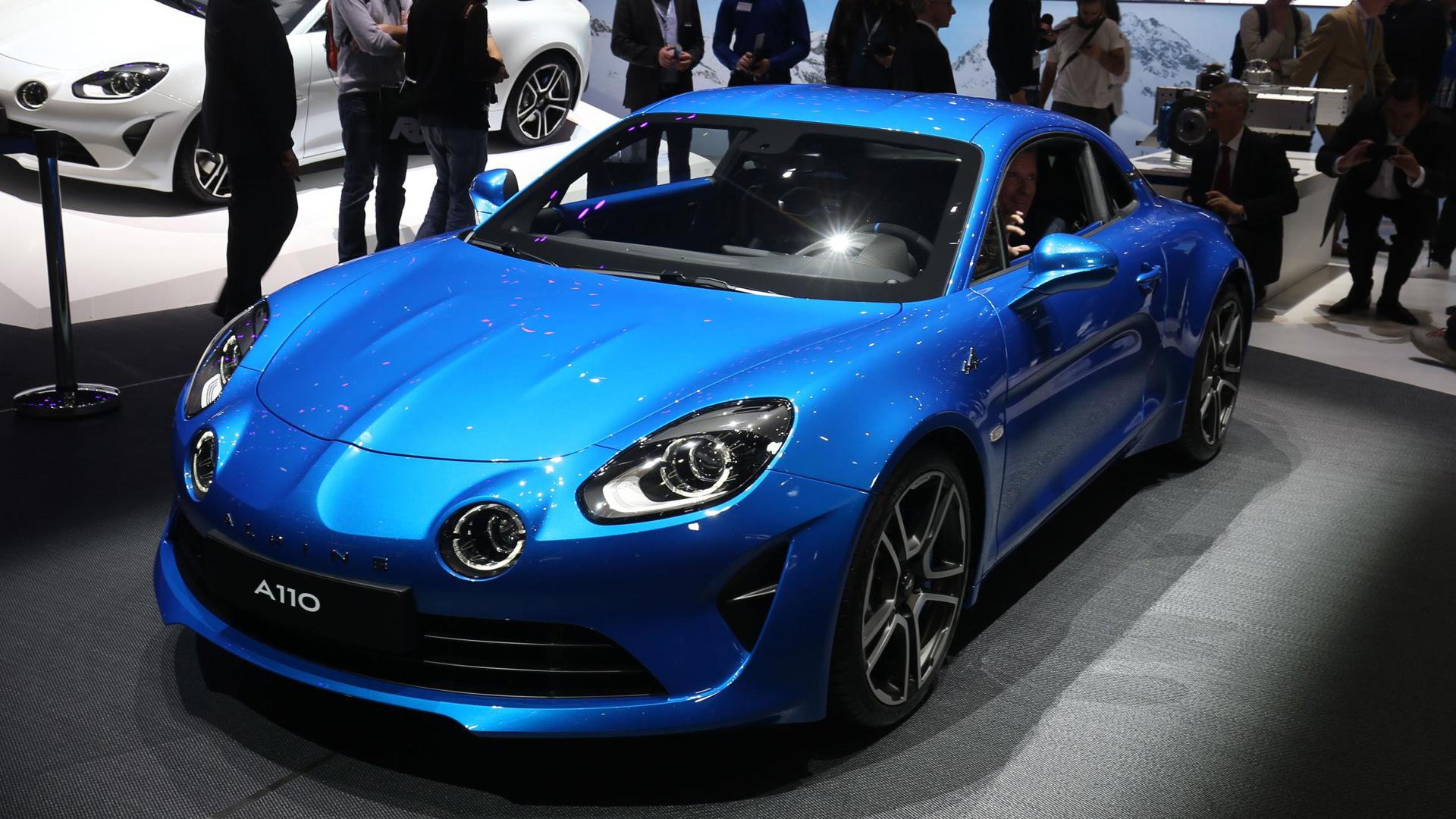 2017 Alpine A110, 2017 Geneva auto show