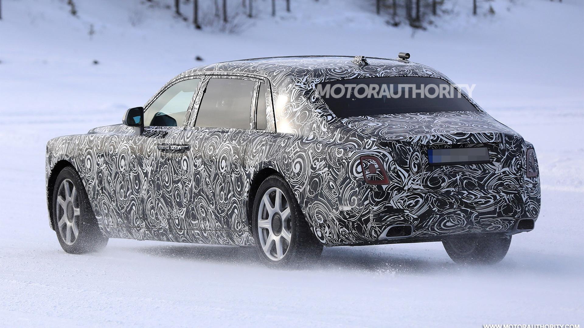 2018 Rolls-Royce Phantom spy shots - Image via S. Baldauf/SB-Medien