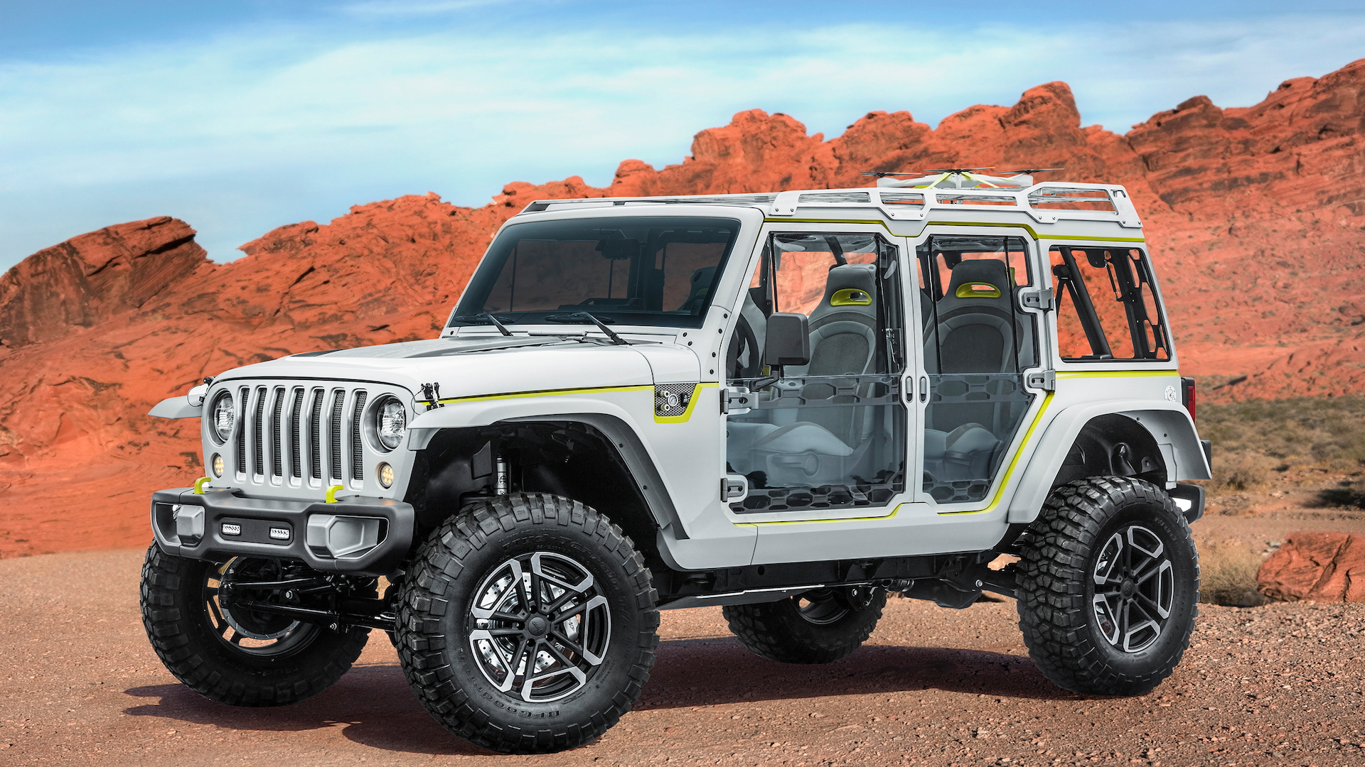 Jeep Safari for Moab Easter Jeep Safari, 2017
