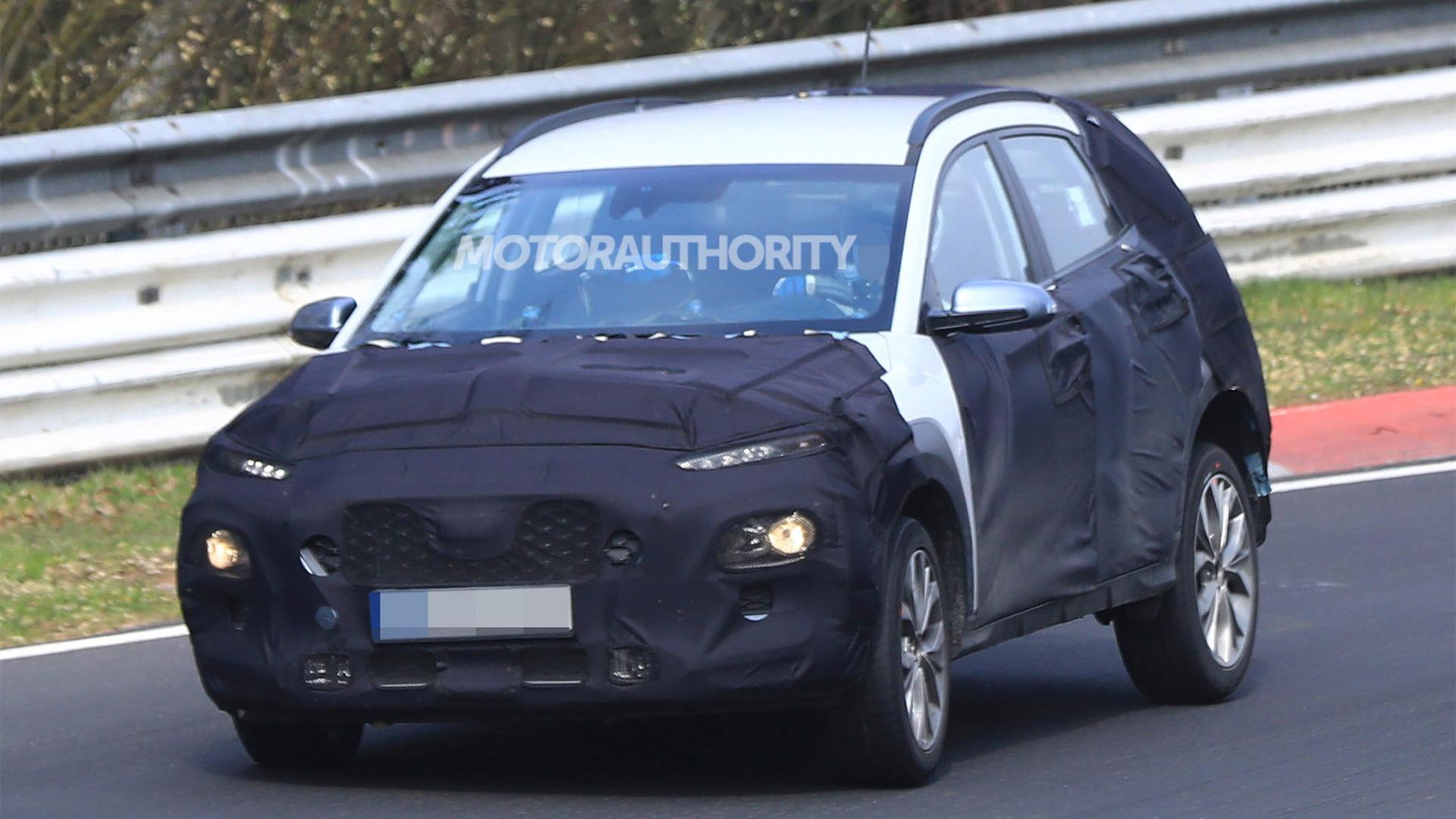 2018 Hyundai Kona spy shots - Image via S. Baldauf/SB-Medien