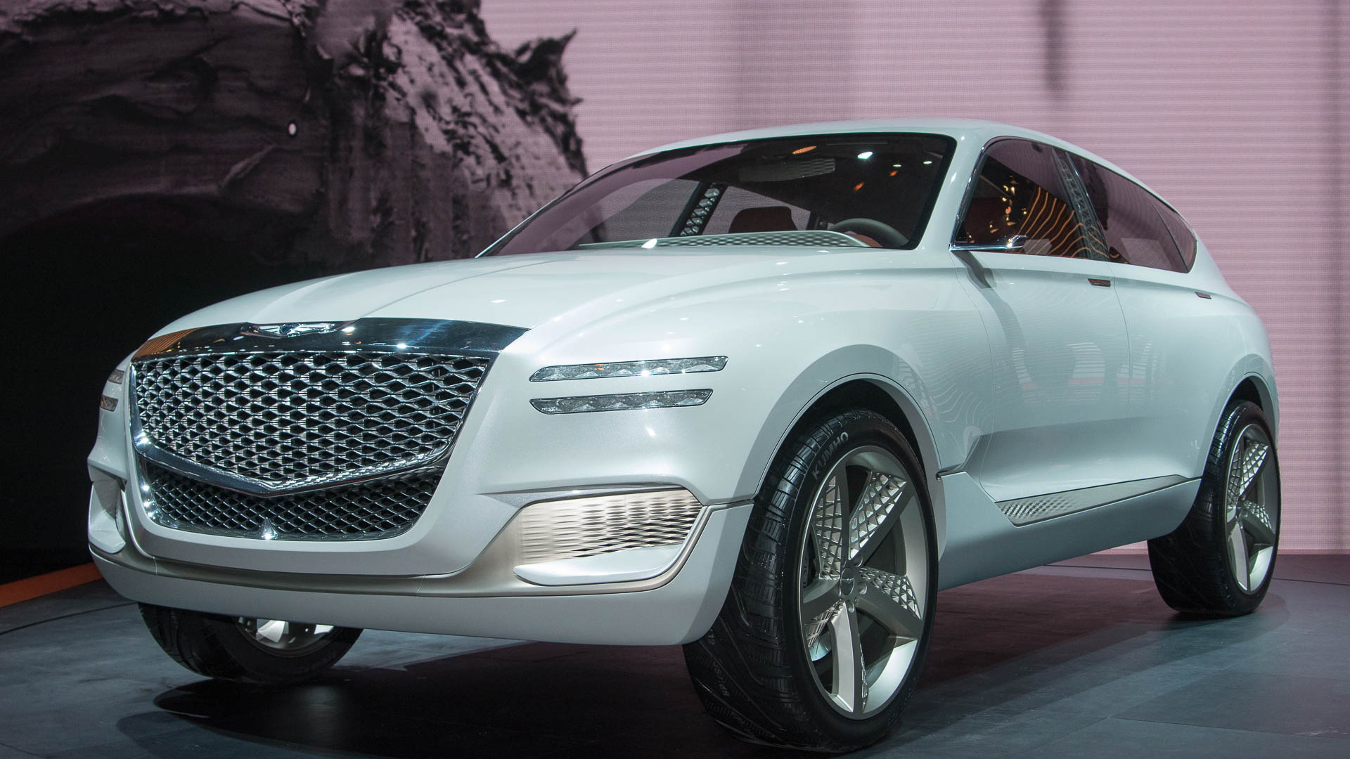2020 Genesis GV80: News, Design, Release >> Genesis Gv80 Fuel Cell Concept Suv At Ny Auto Show