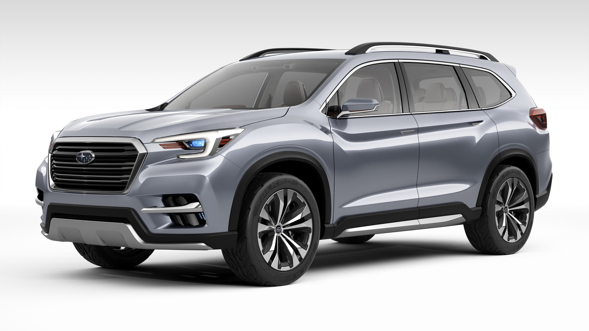 Subaru Ascent concept, 2017 New York auto show