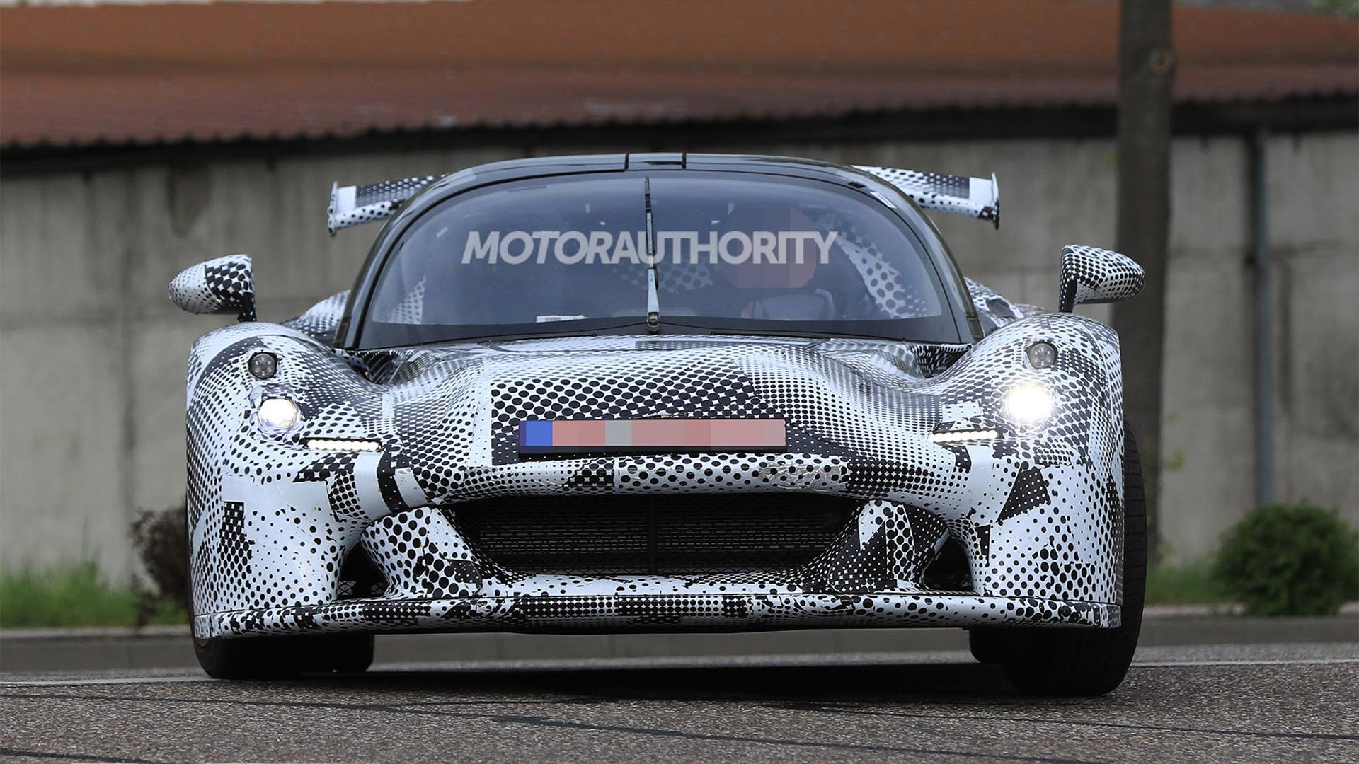 2018 Dallara sports car spy shots - Image via S. Baldauf/SB-Medien