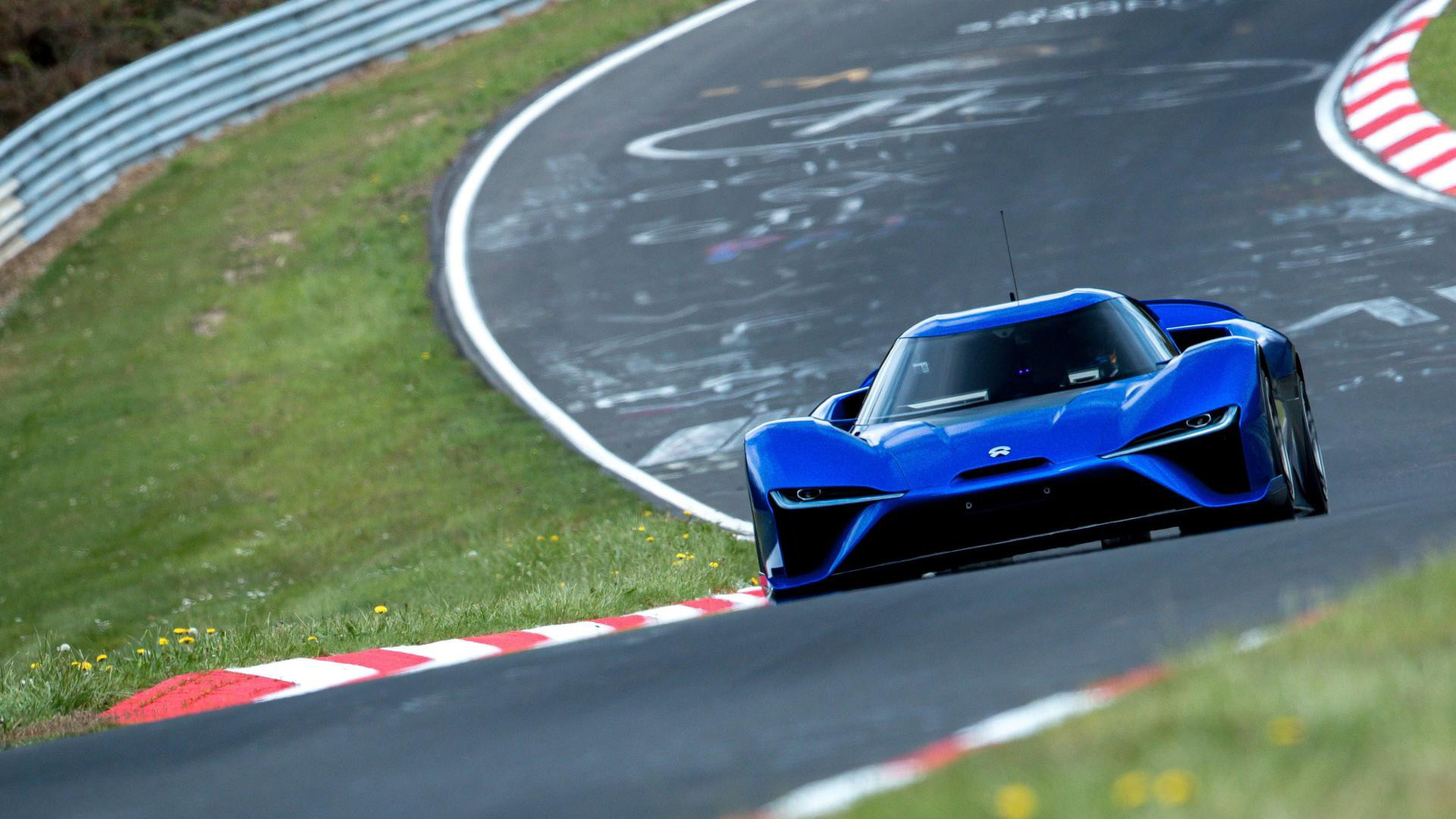 Nio EP9 clocks a 6:45.9 Nürburgring lap time on May 12, 2017