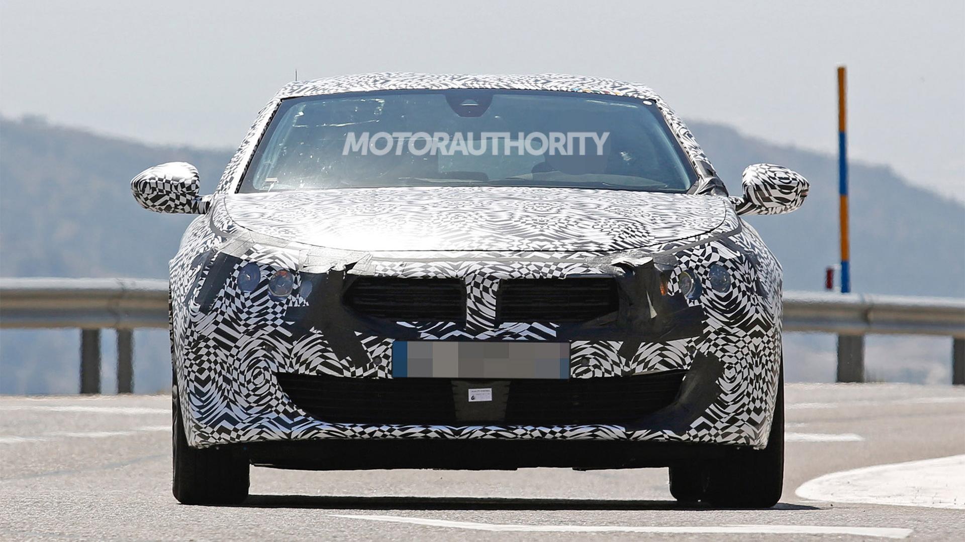 2018 Peugeot 508 spy shots - Image via S. Baldauf/SB-Medien