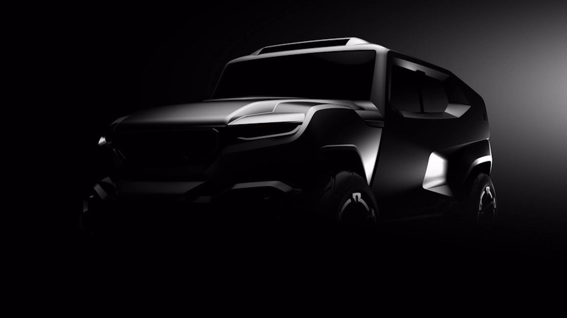 Teaser for Rezvani SUV debuting in 2017