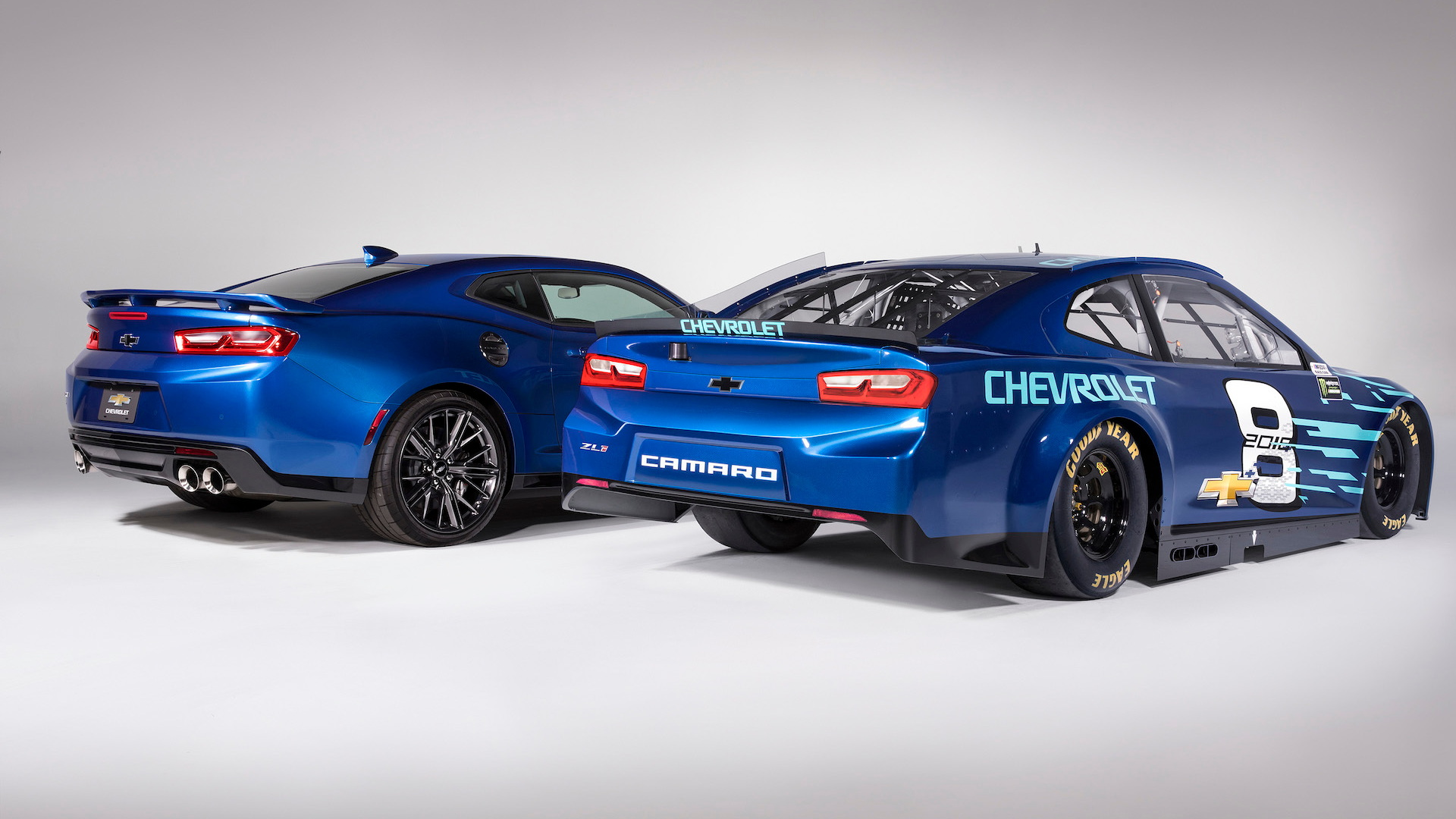 2018 Chevrolet Camaro ZL1 NASCAR race car