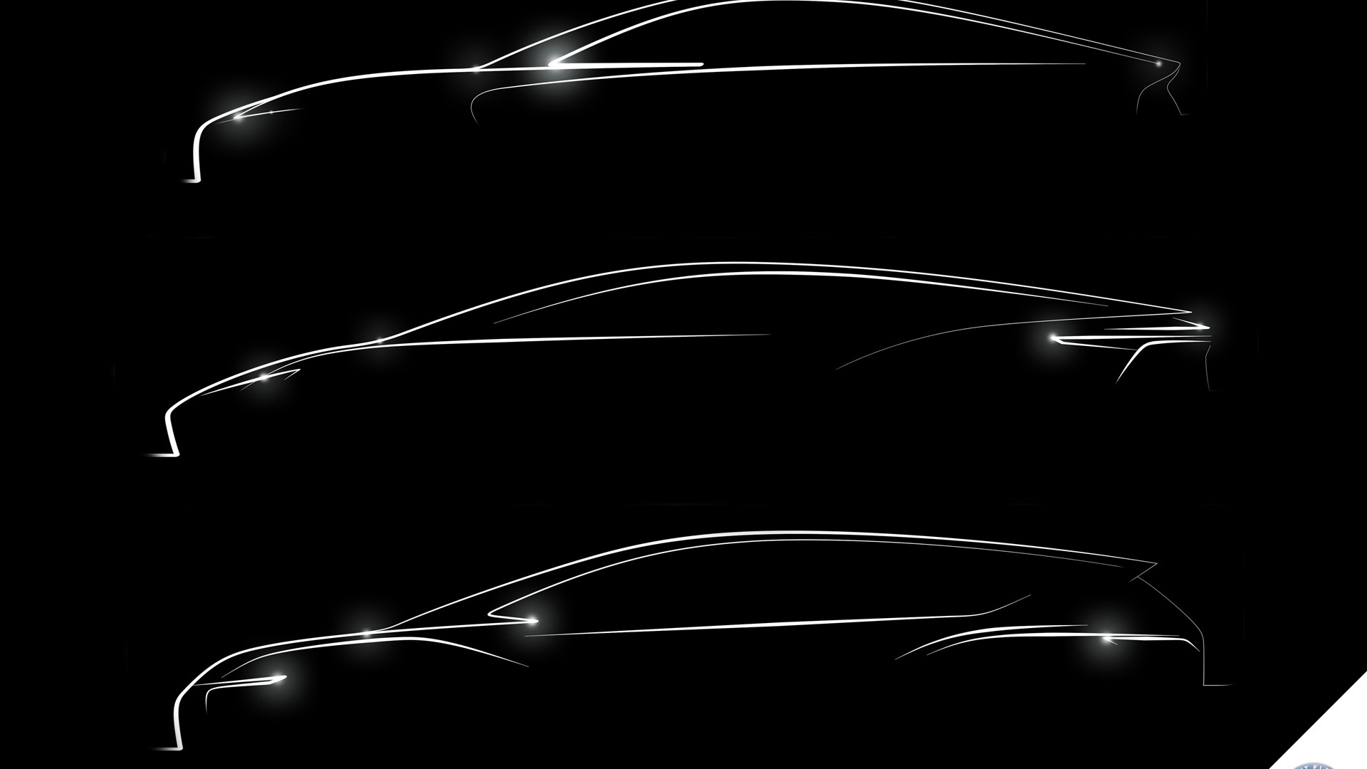 Teaser for Detroit Electric sports car, sedan and SUV