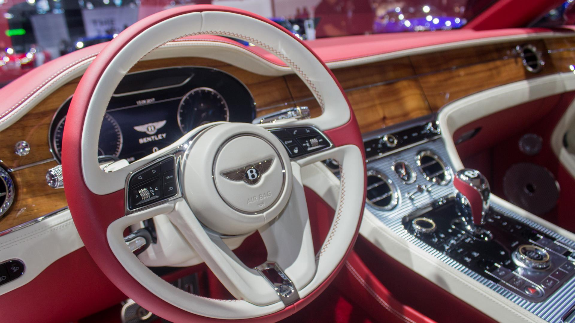 2018 Bentley Continental GT, 2017 Frankfurt Auto Show