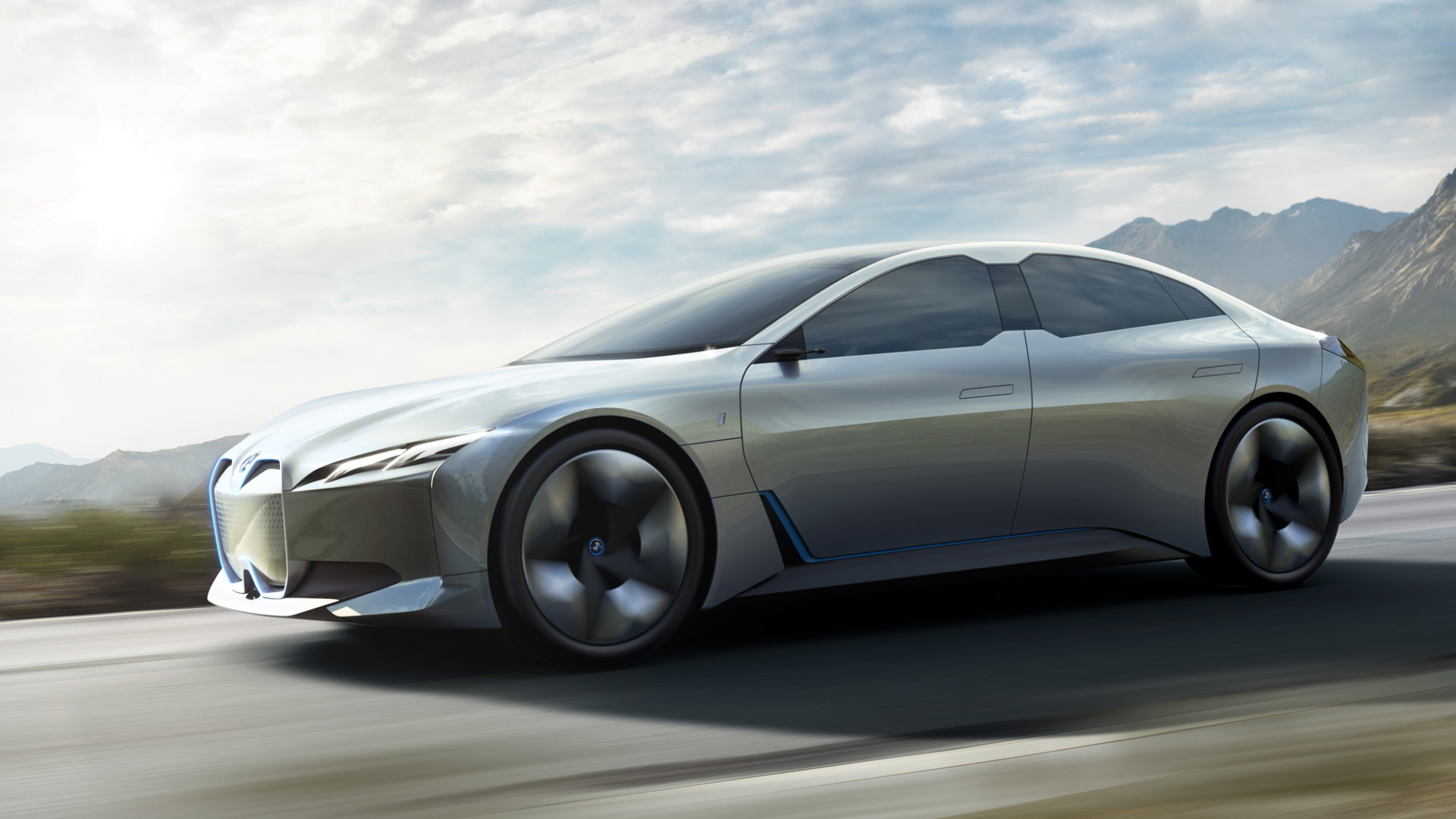 BMW details i4 electric vehicle , stresses next-gen advances