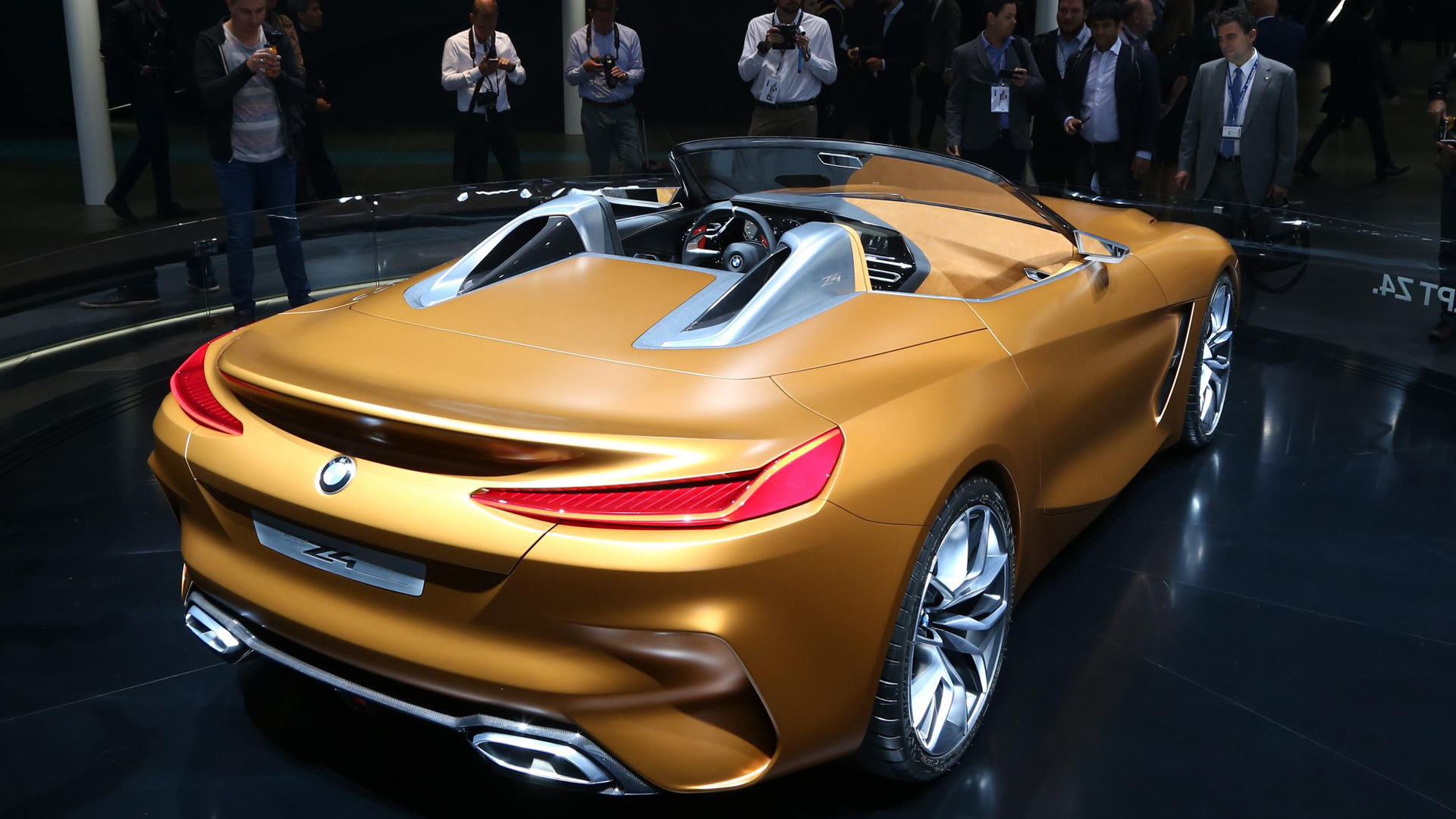 BMW Z4 concept noses the roadster in a sporty new direction