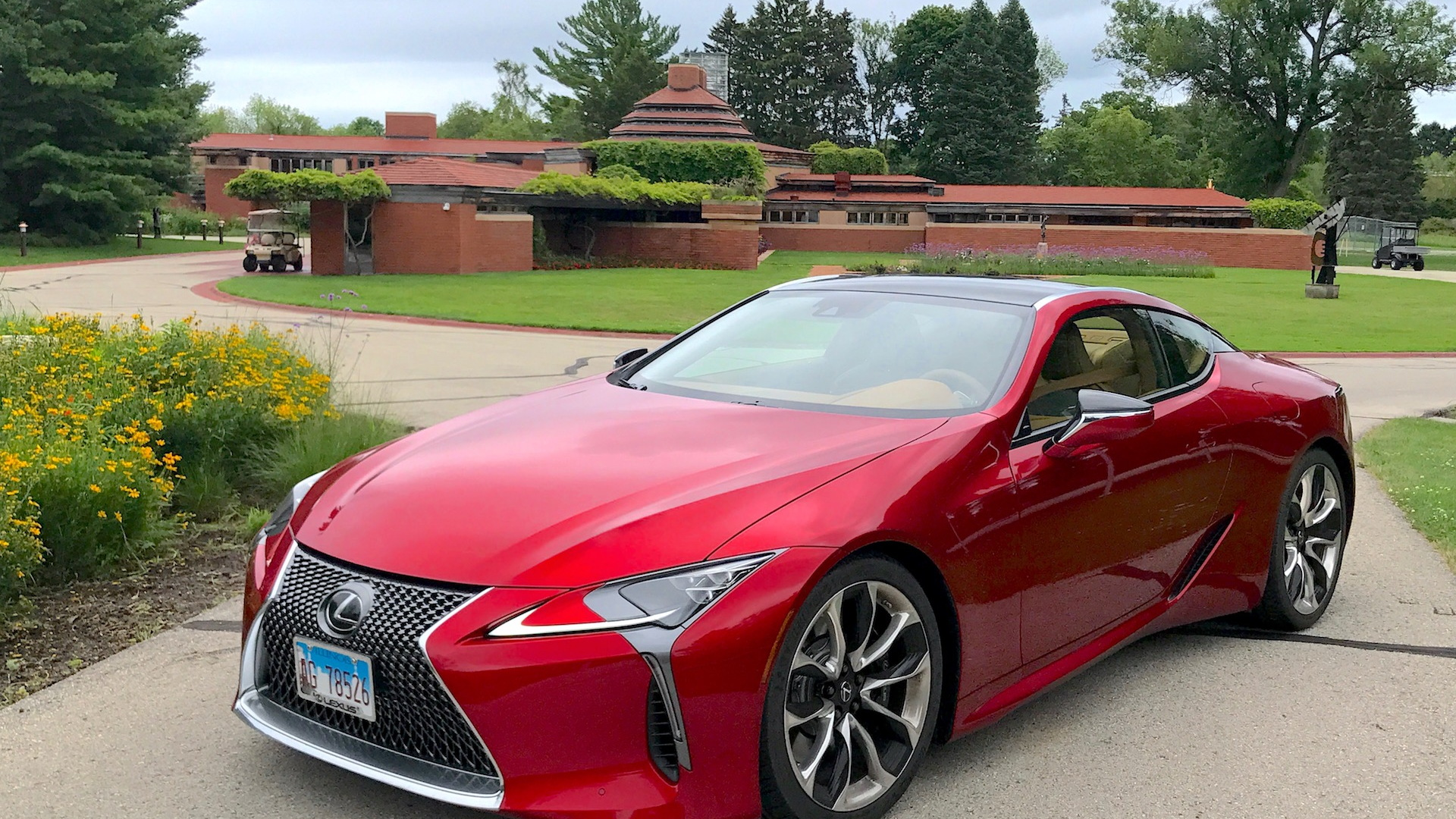 2018 Lexus LC 500 at Wingspread