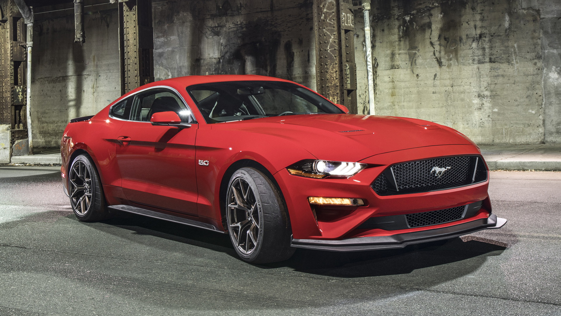 2018 Ford Mustang GT equipped with Performance Pack Level 2