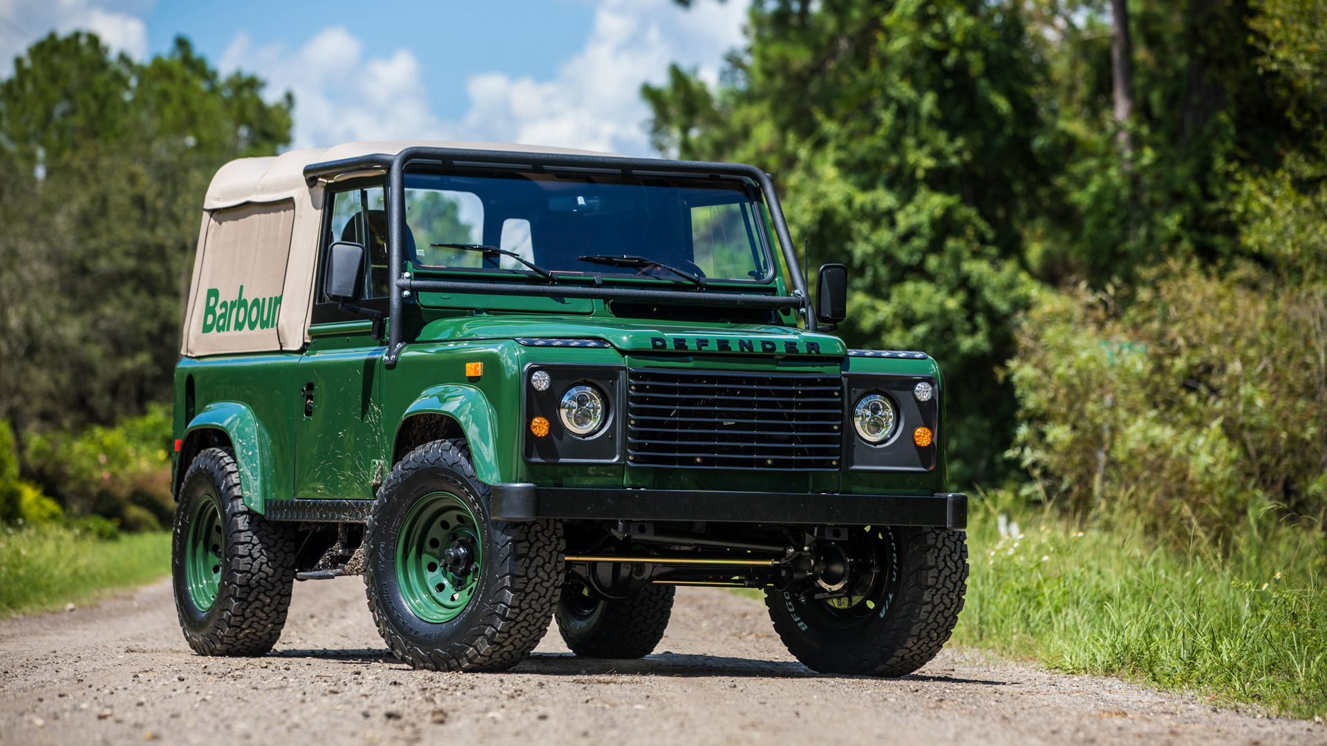 East Coast Defender Project Barbour