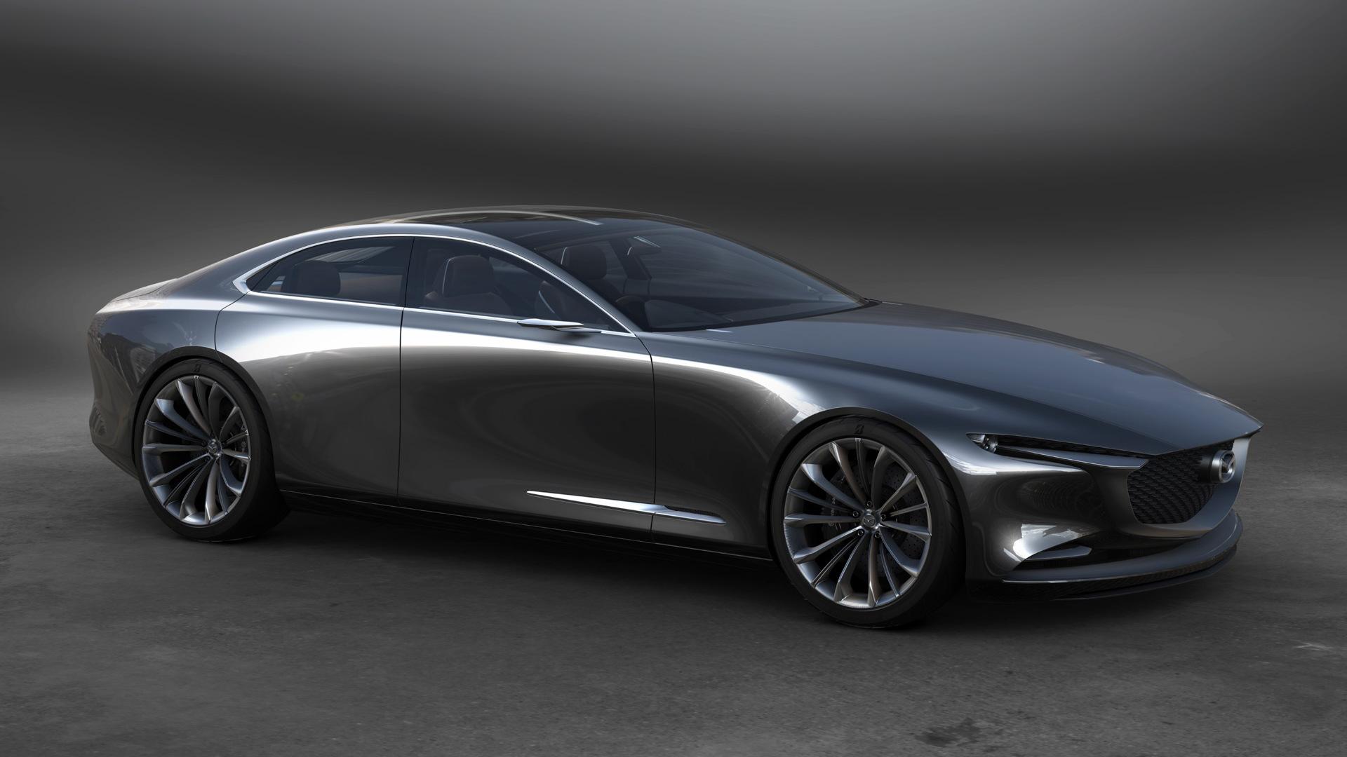 Mazda Vision Coupe concept, 2017 Tokyo Motor Show