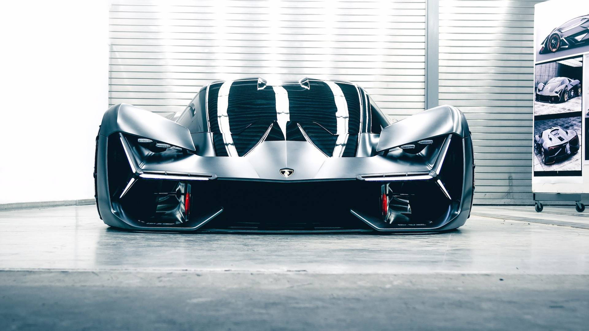 Lamborghini Terzo Millennio Concept Electric Car Unveiled Hints At