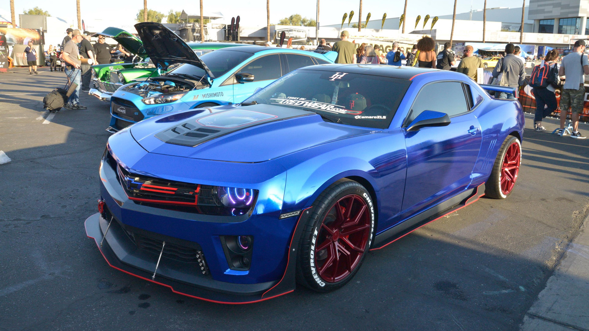 Modified Chevrolet Camaro at 2017 SEMA show