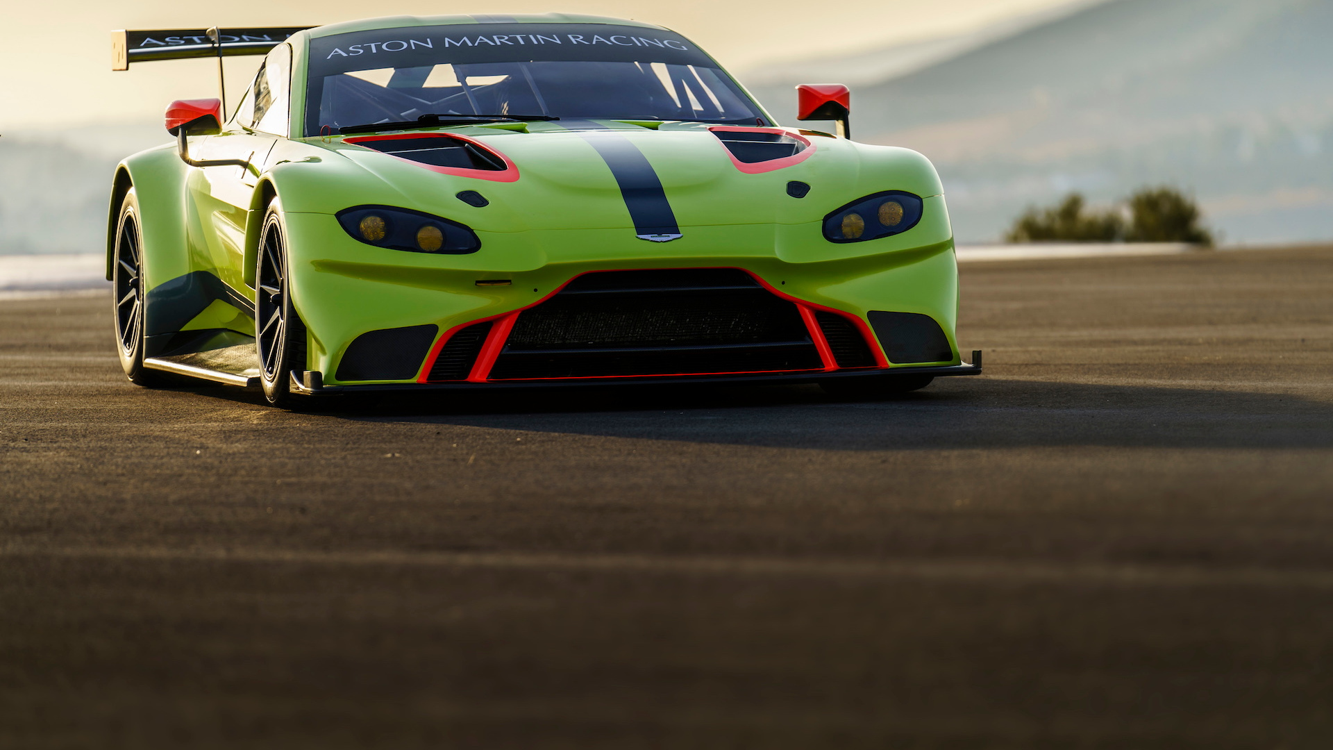 Aston Martin Vantage GTE race car