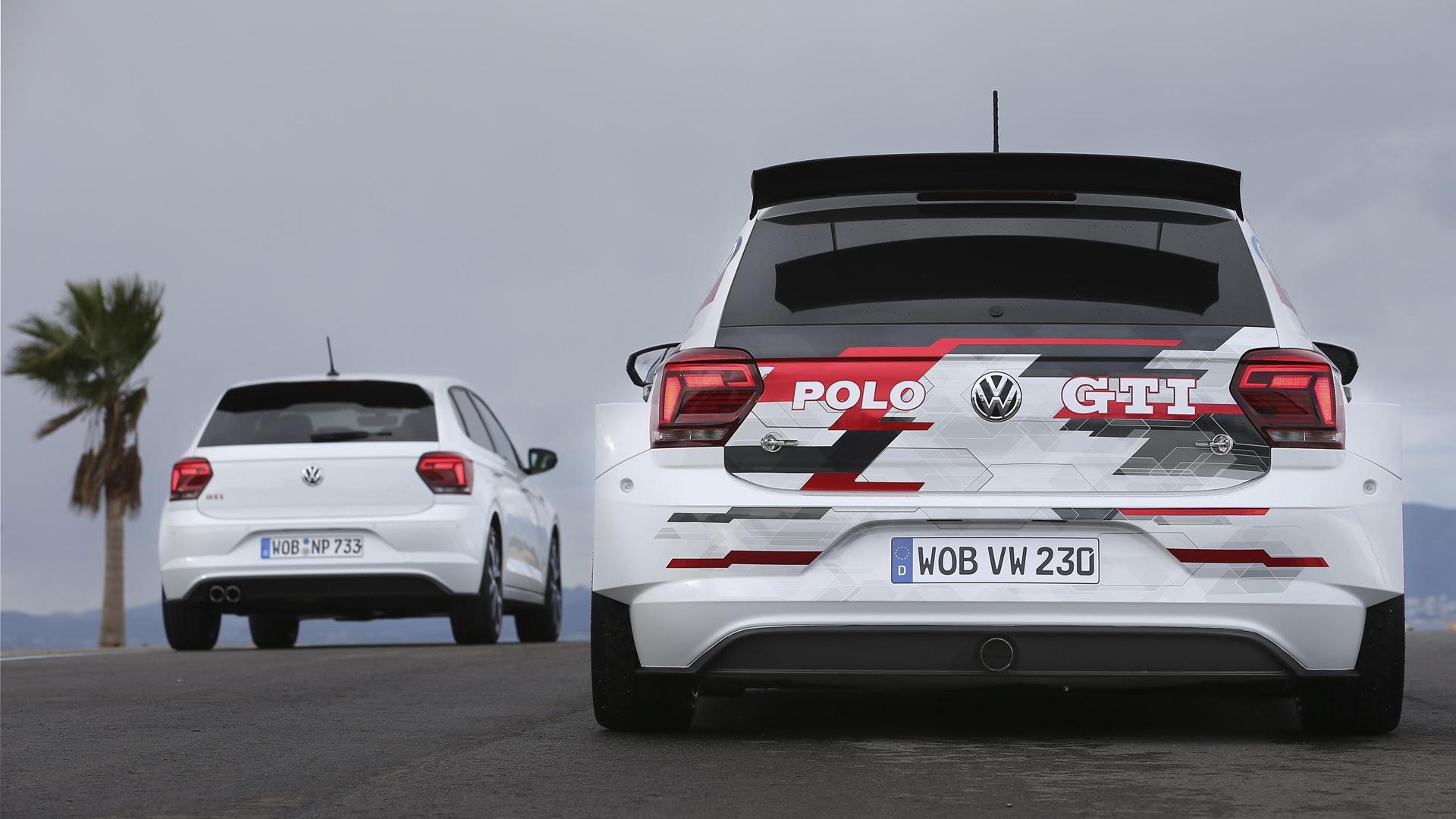 2018 Volkswagen Polo GTI R5 rally car