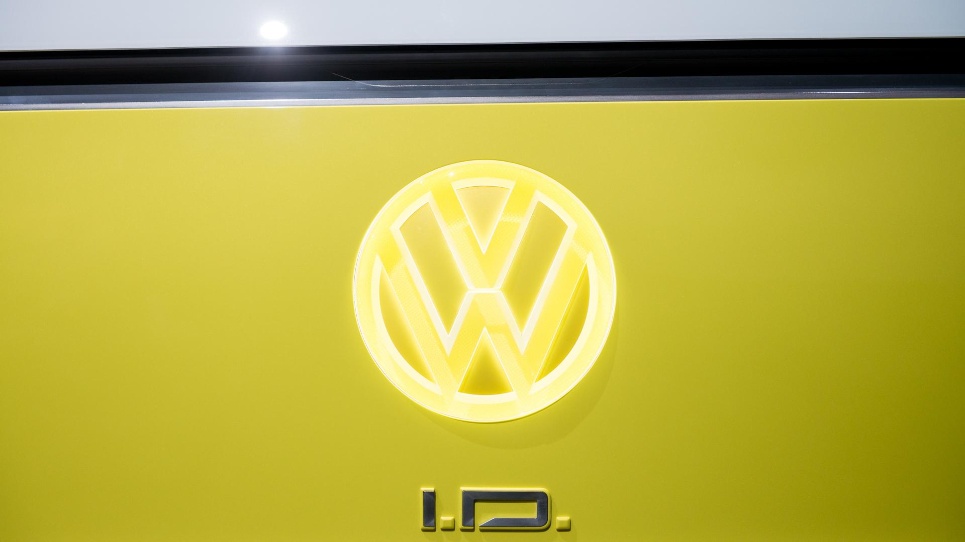 Volkswagen ID Buzz concept, 2017 Los Angeles auto show