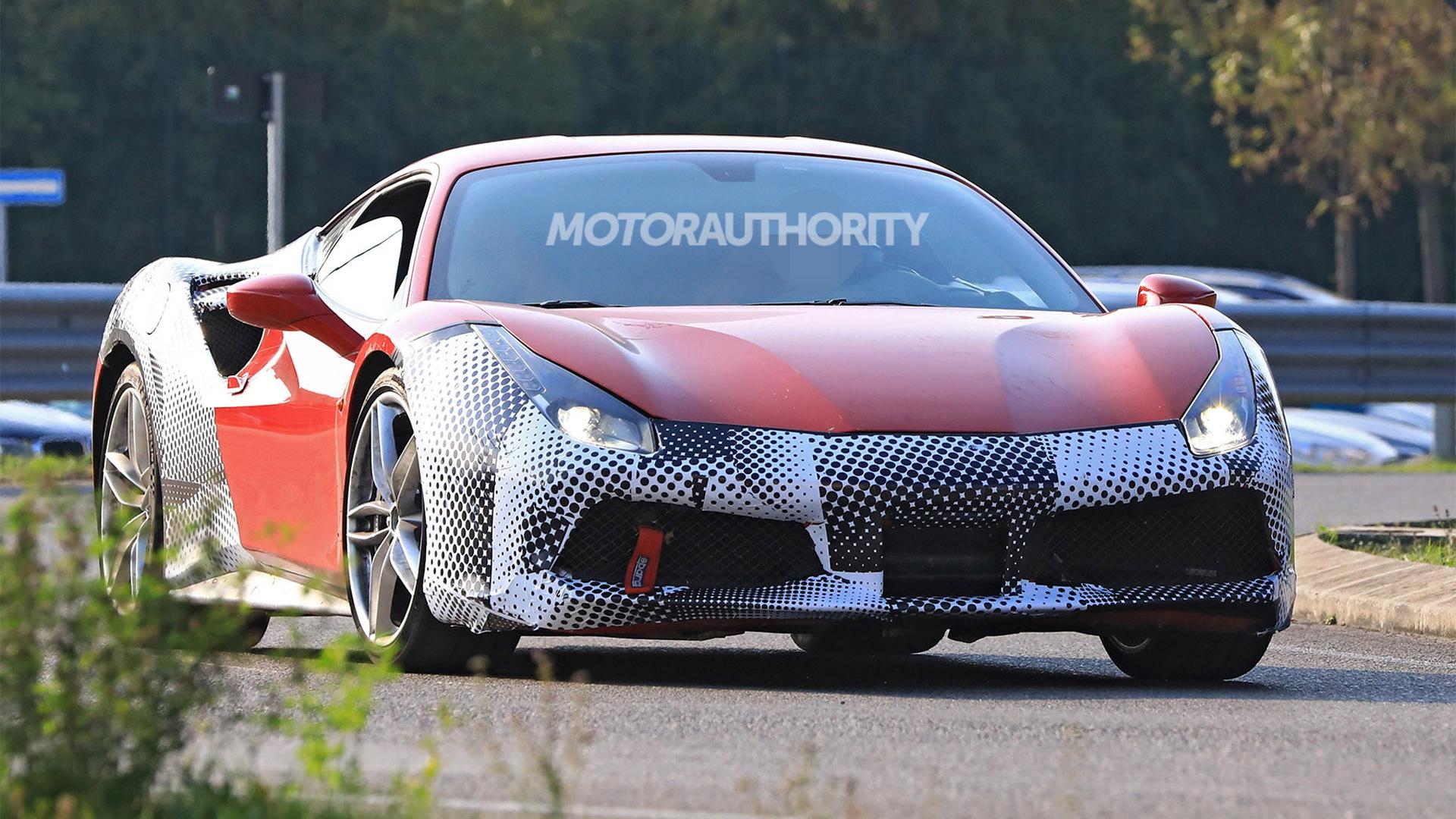 2019 Ferrari 488 GTO spy shots - Image via S. Baldauf/SB-Medien