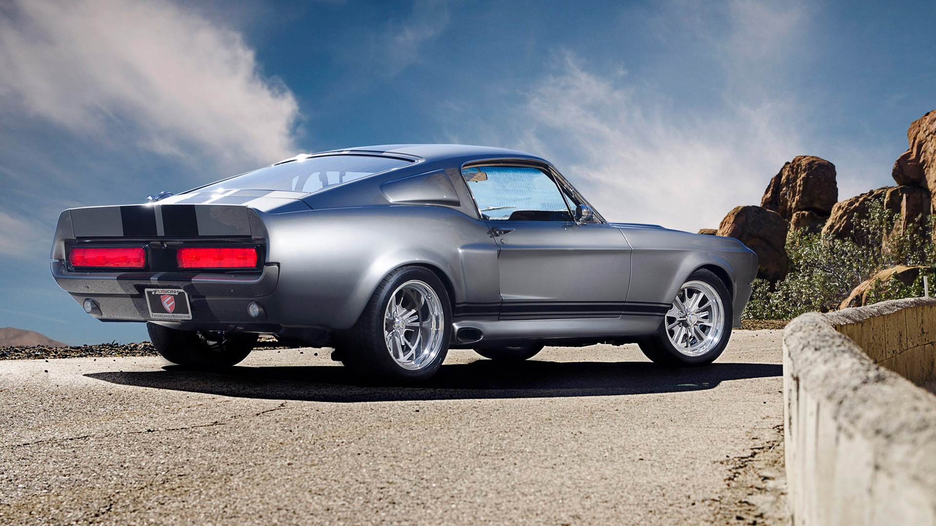 """Gone in 60 Seconds"" Ford Mustang Eleanor recreation by Fusion Motor Company"