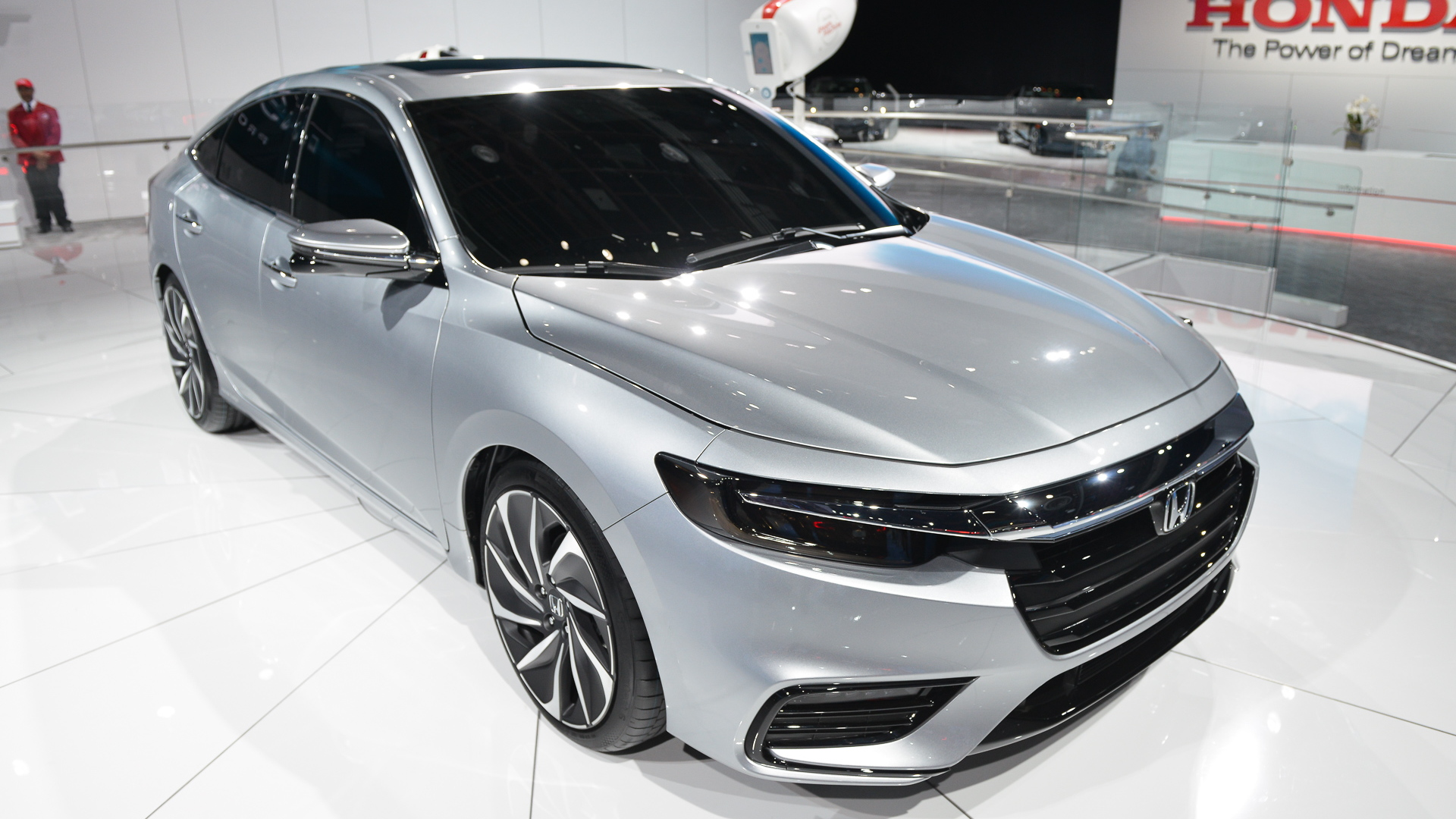 Honda Insight Prototype, 2018 Detroit auto show
