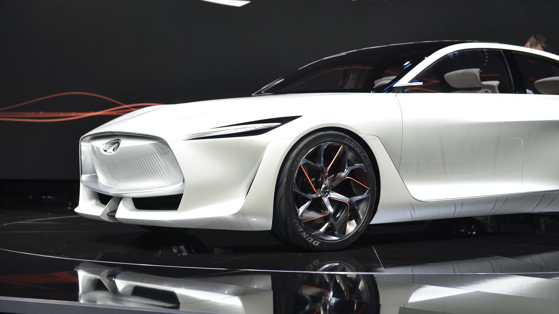 Infiniti Q Inspiration, 2018 Detroit auto show
