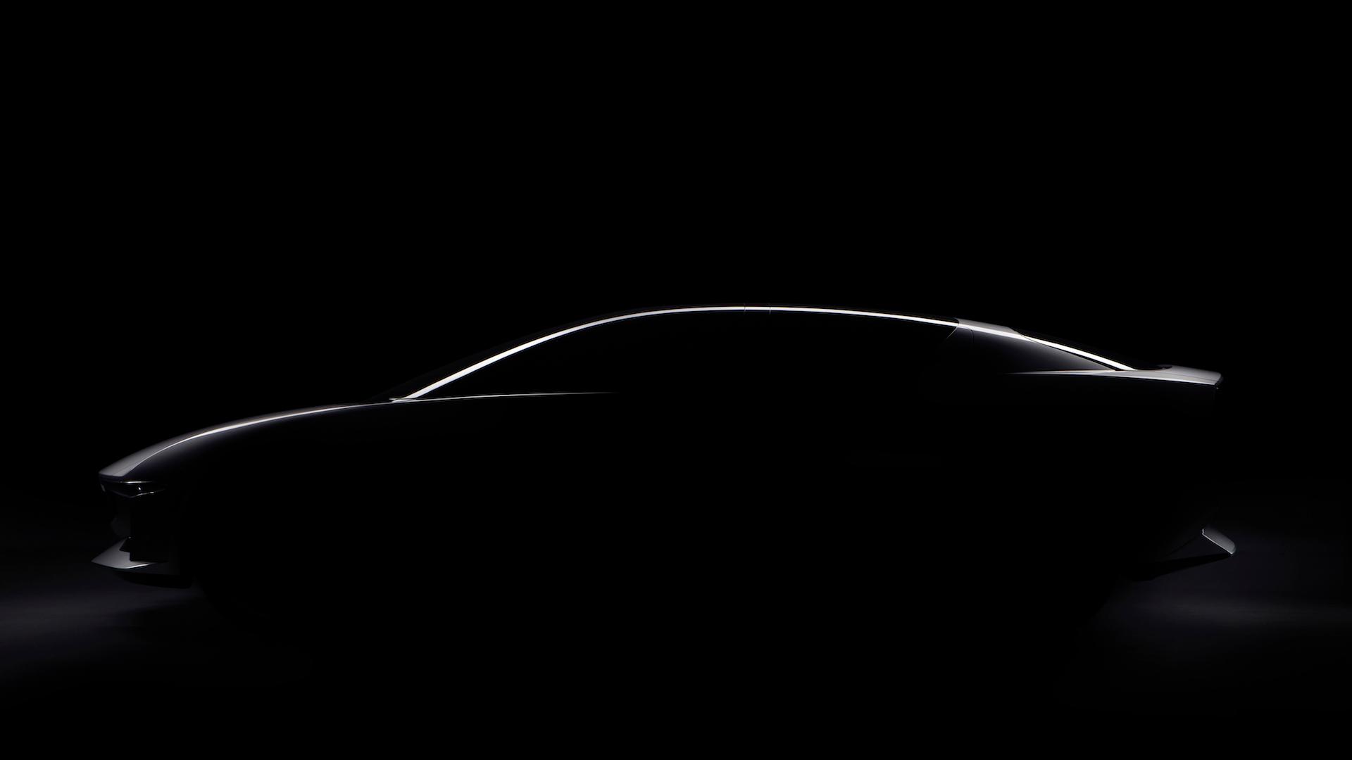 GFG Style electric sedan concept teaser image