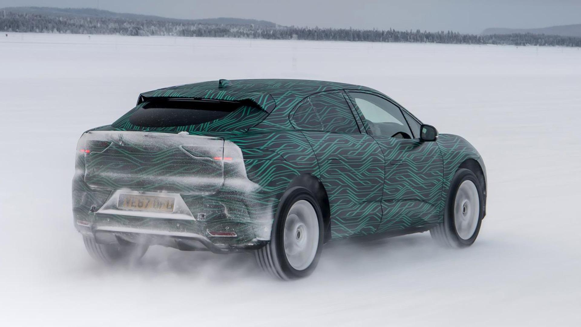 Jaguar I-Pace prototype