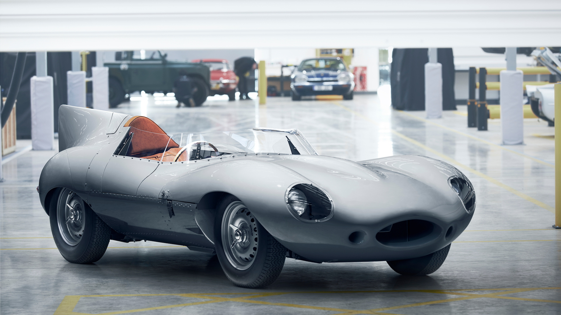 Jaguar restarting production of D-Type after 62 years