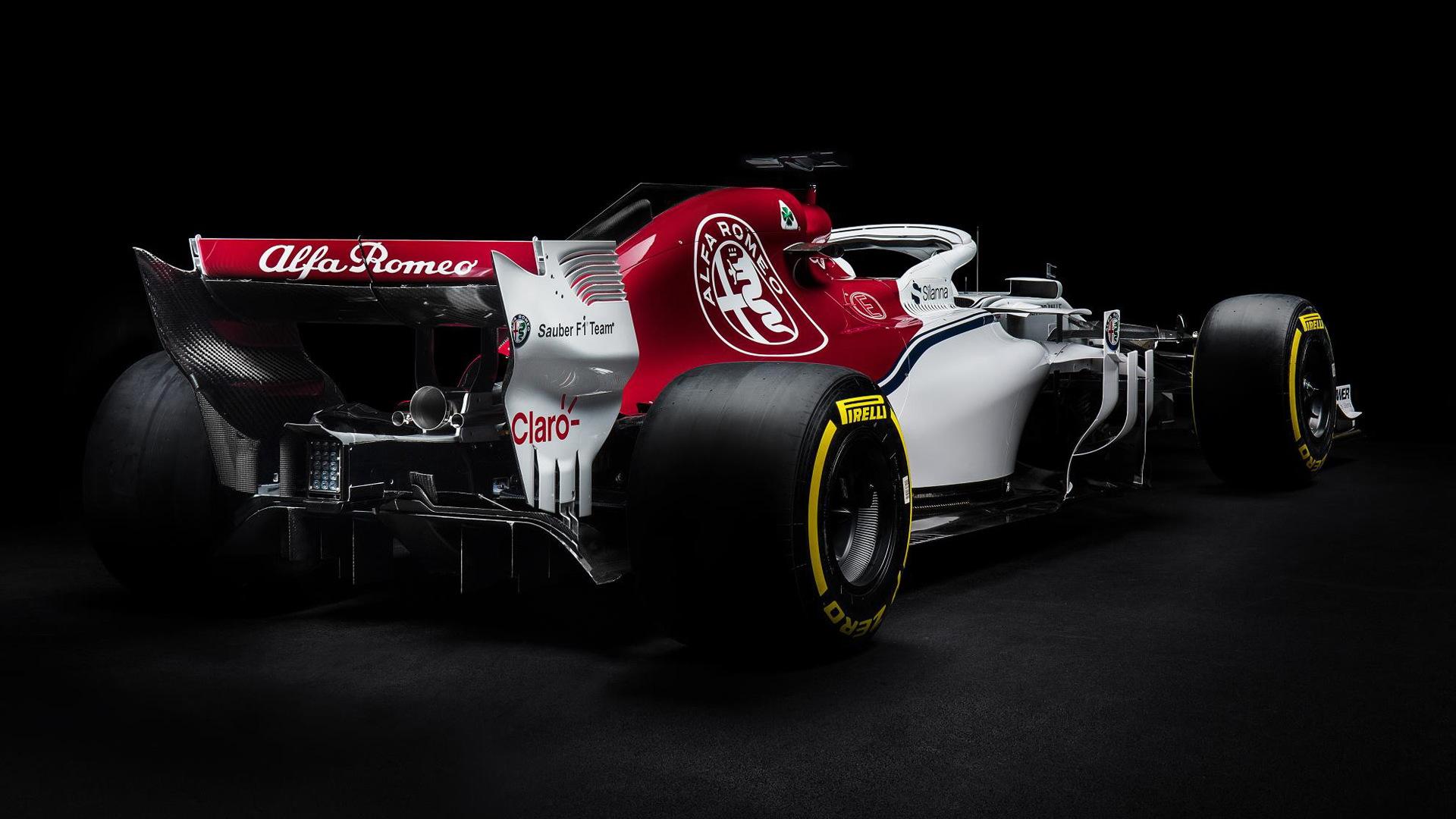 2018 Sauber C37 Formula 1 race car