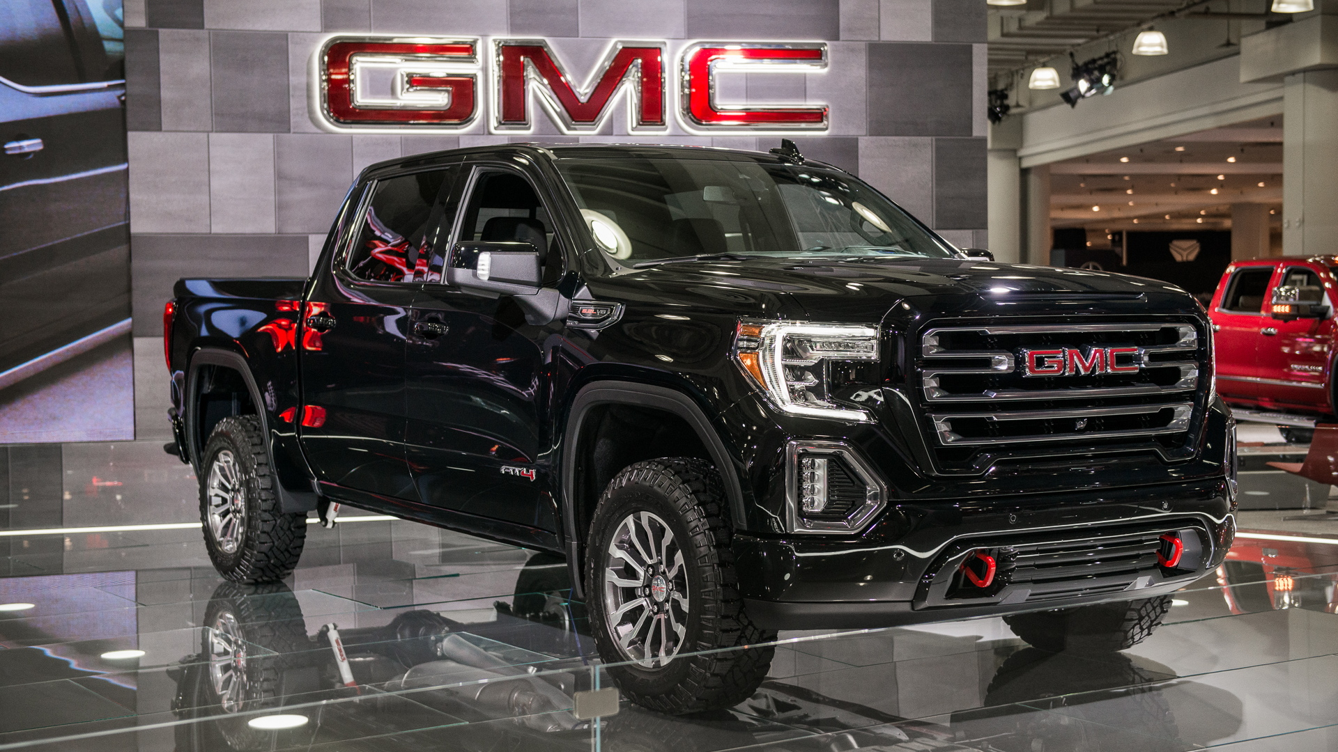 2019 GMC Sierra 1500 AT4, 2018 New York auto show