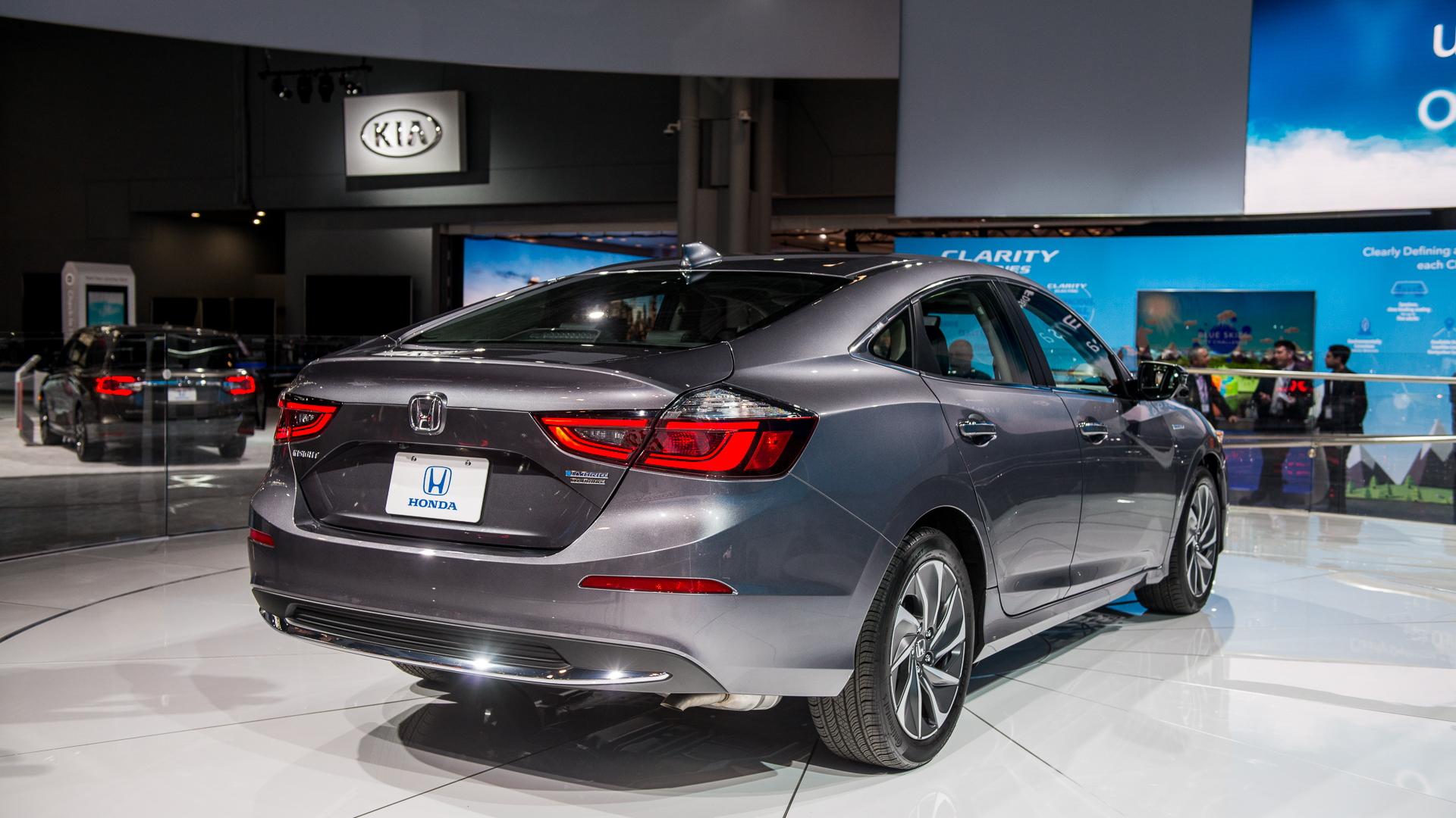 2019 Honda Insight, 2018 New York auto show