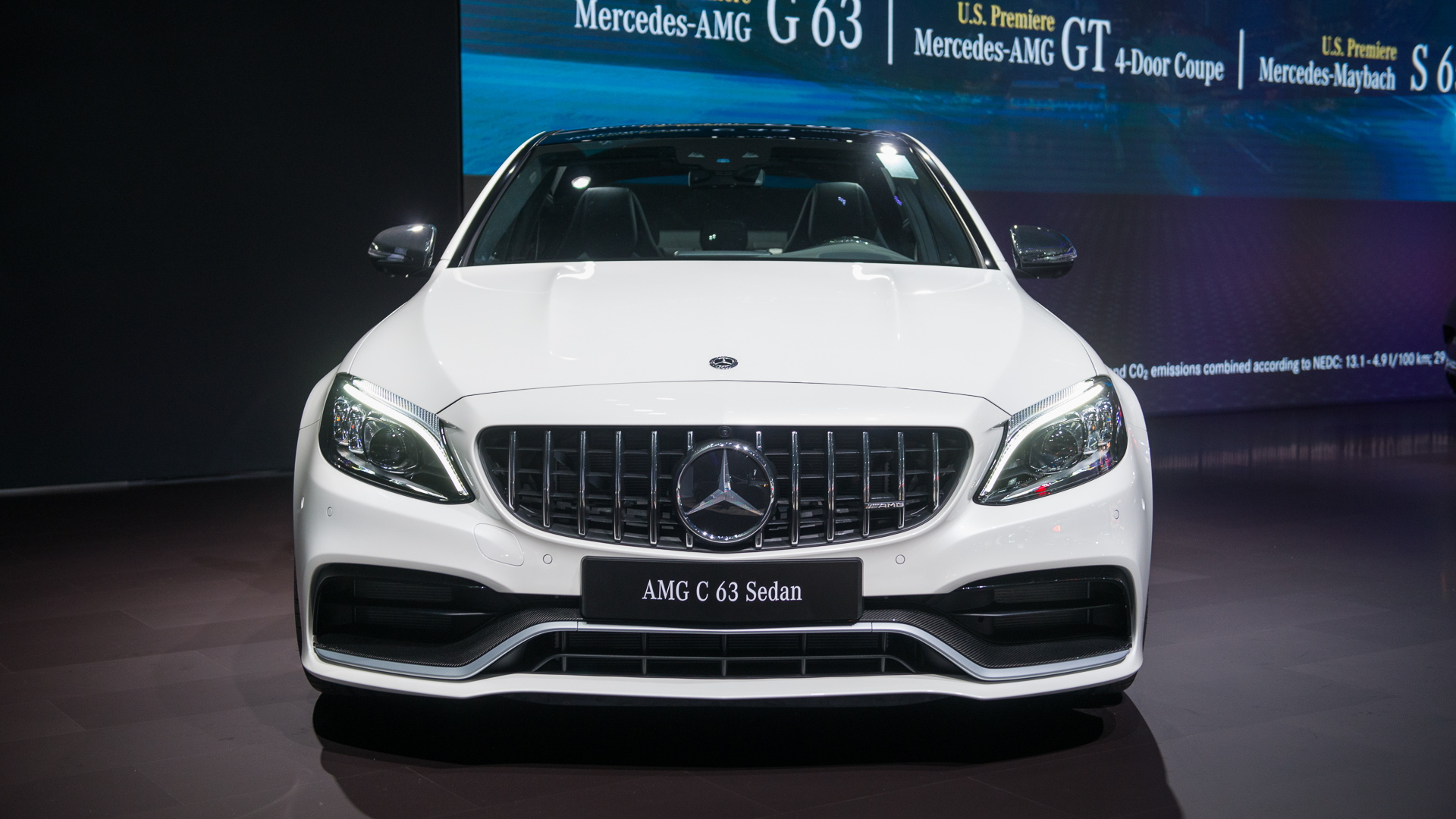 2019 Mercedes-AMG C63, 2018 New York auto show