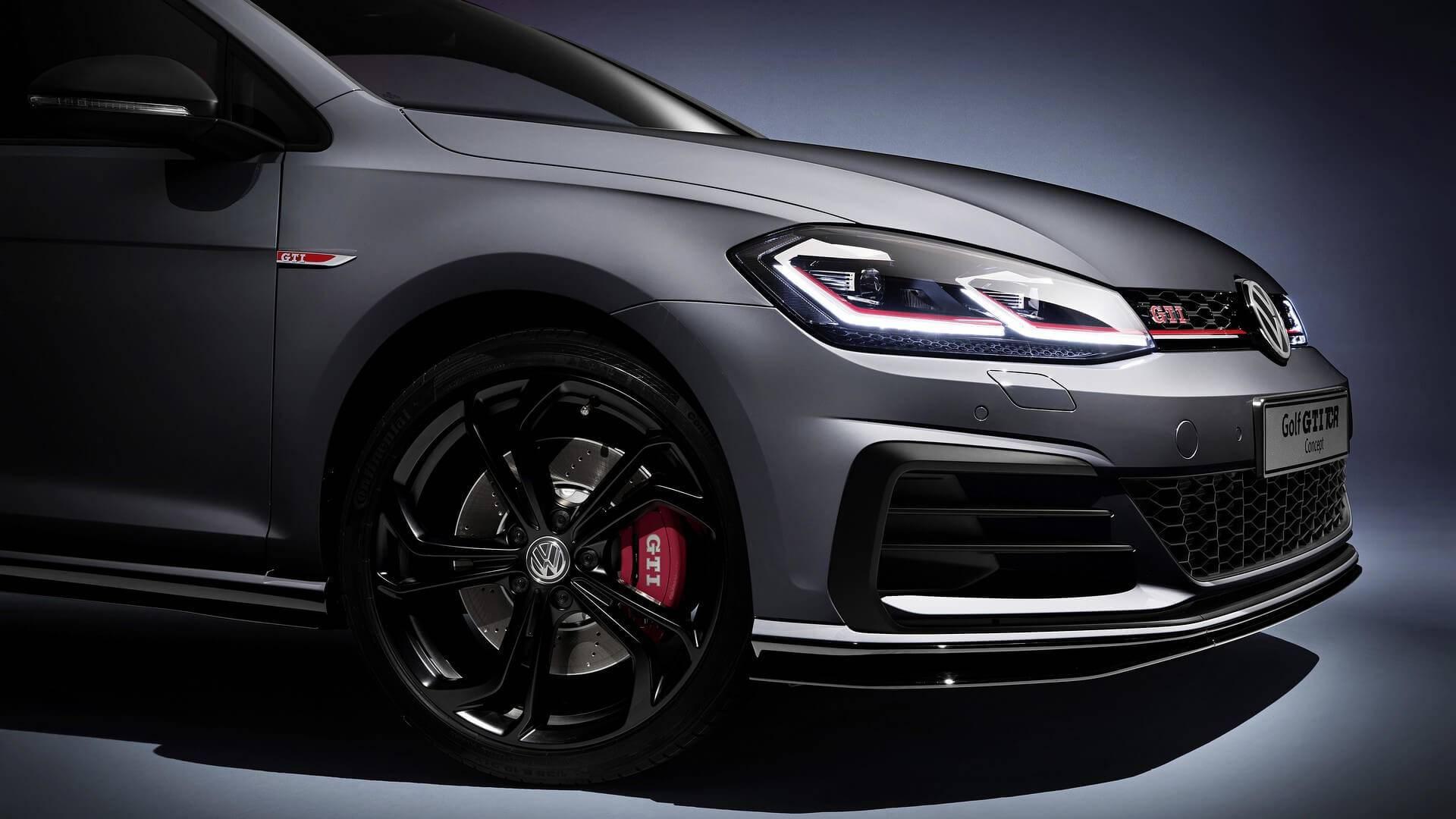 Volkswagen Golf GTI TCR concept