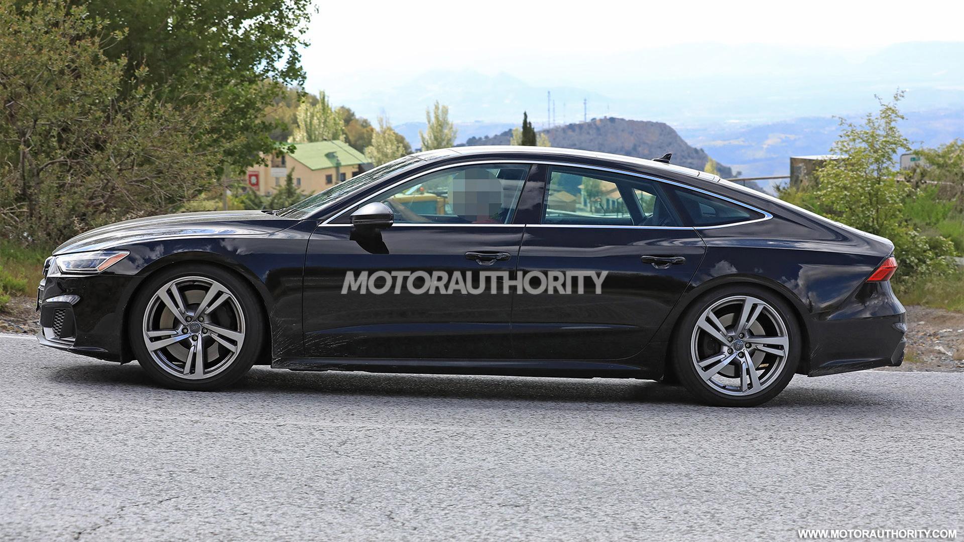 2019 Audi S7 spy shots - Image via S. Baldauf/SB-Medien