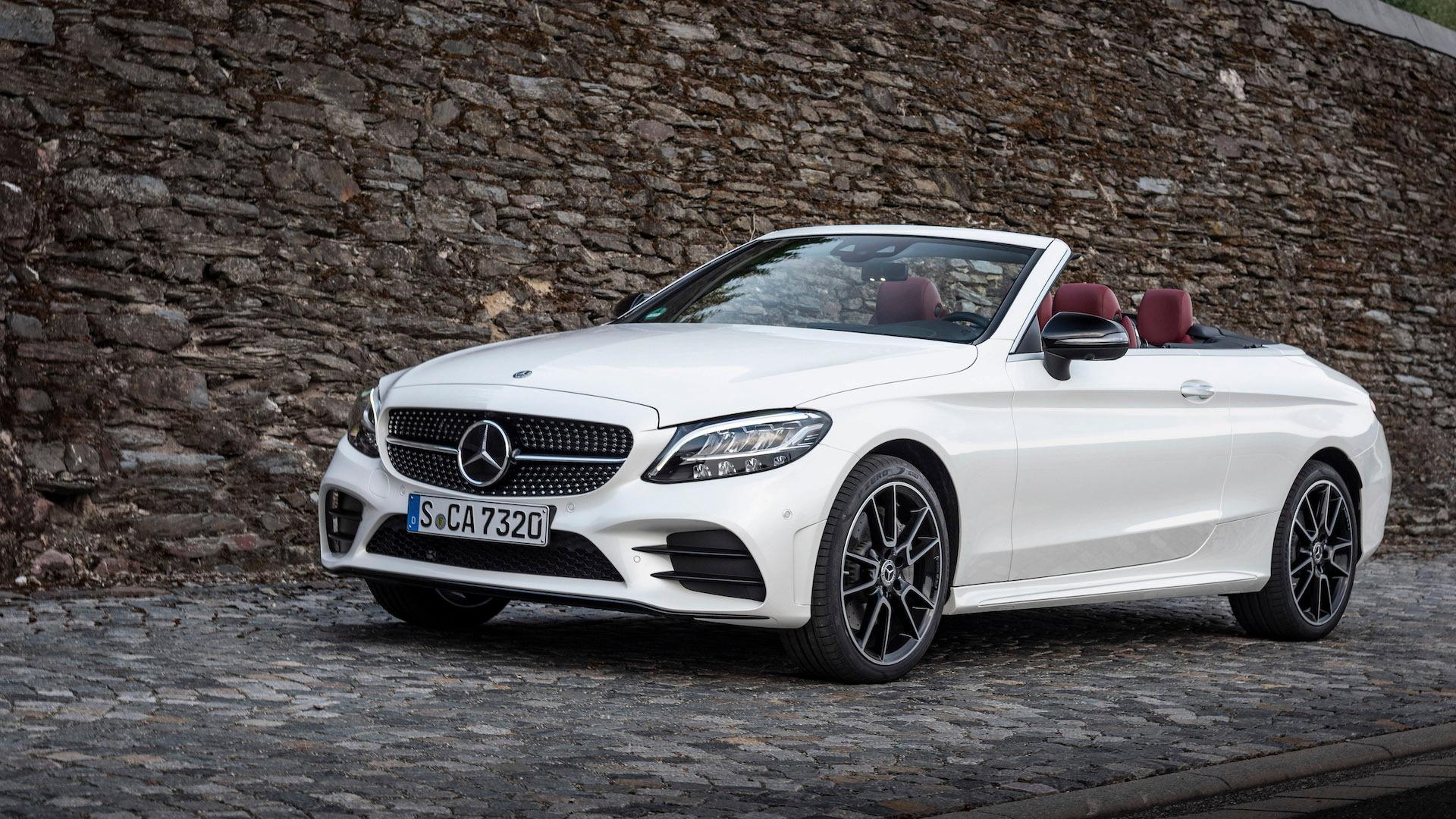 2019 Mercedes-Benz C-Class (C300 Cabriolet)