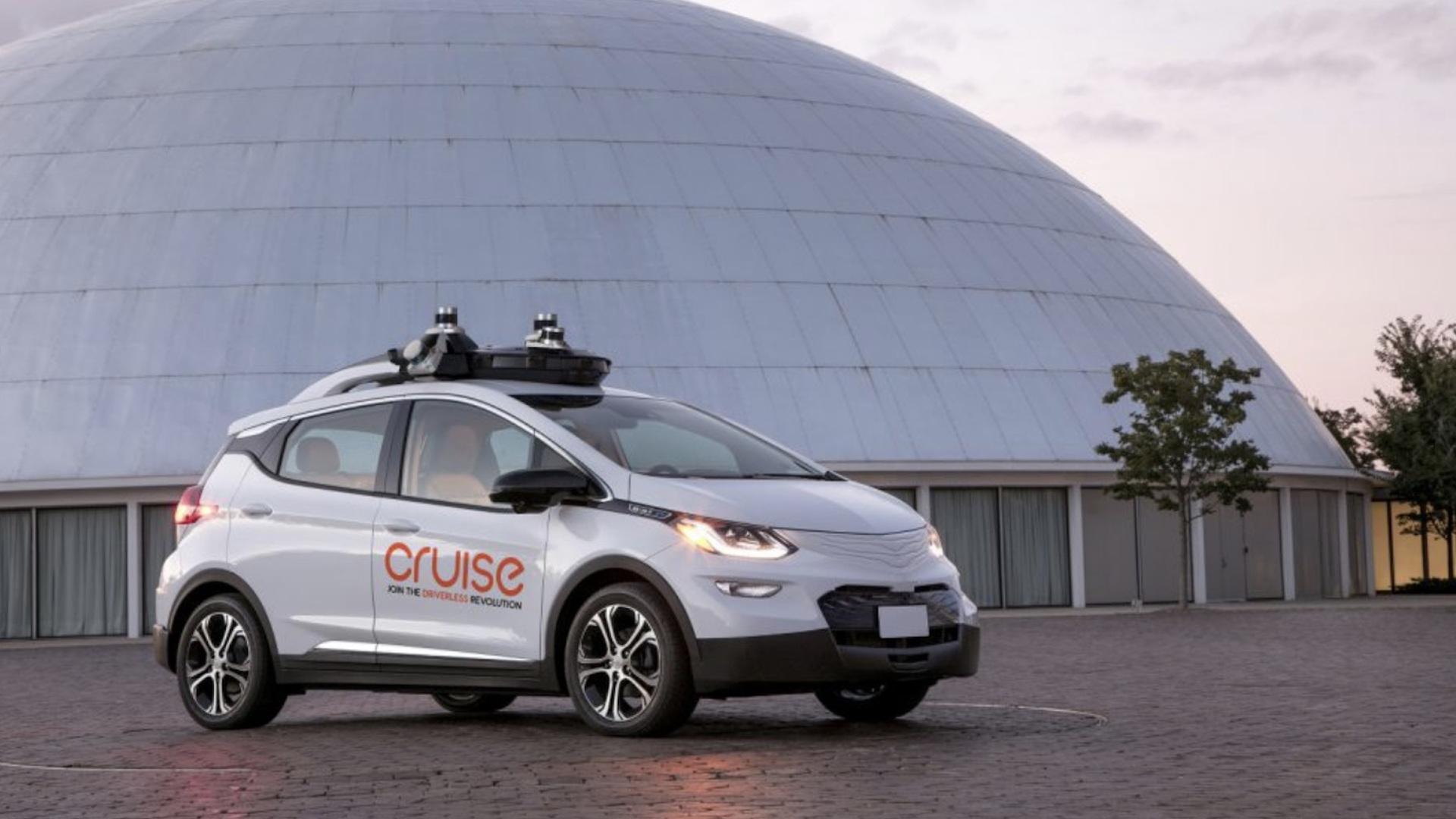 GM Cruise AV self-driving car