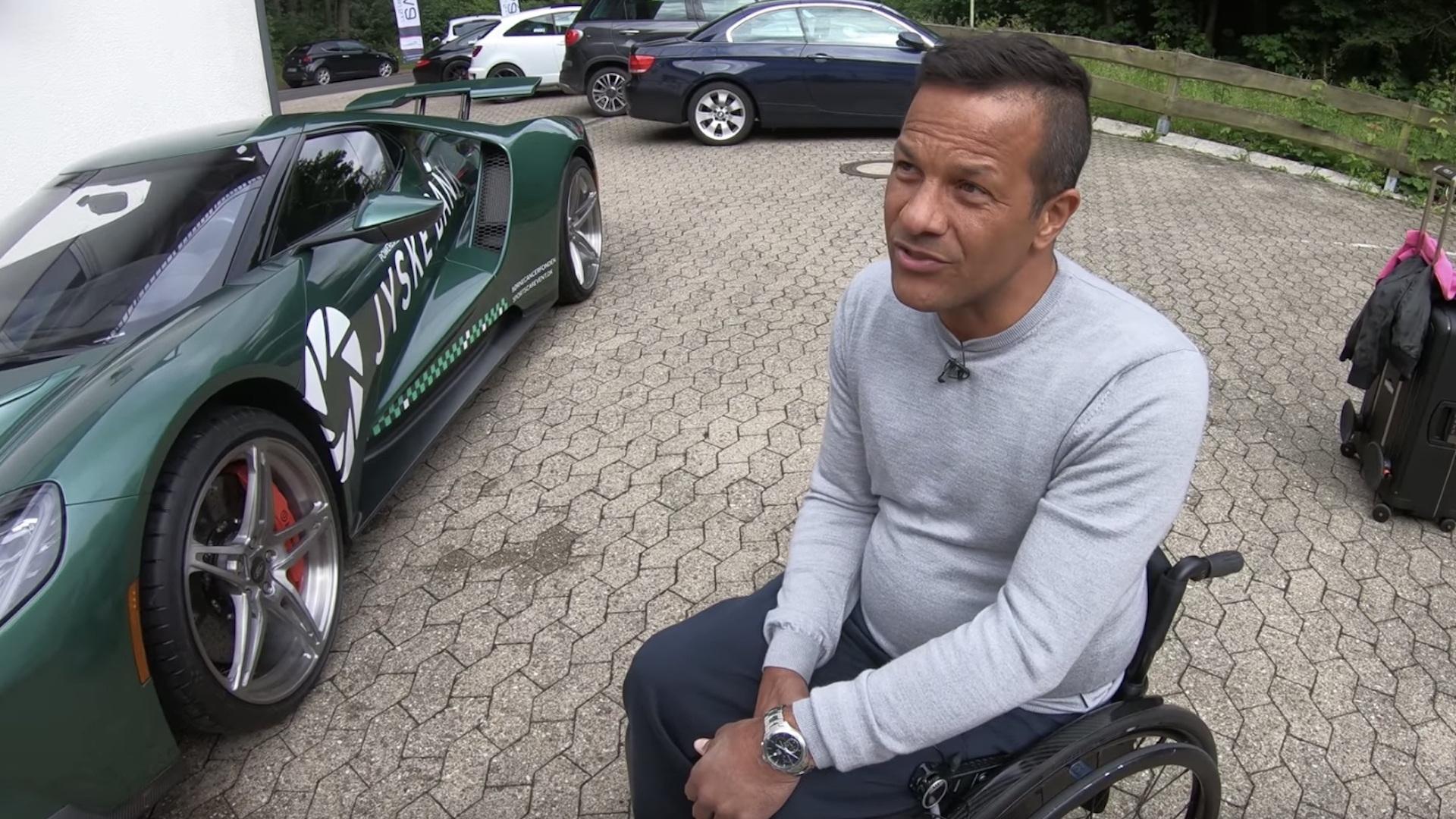Jason Watt drives Ford GT around Nürburgring