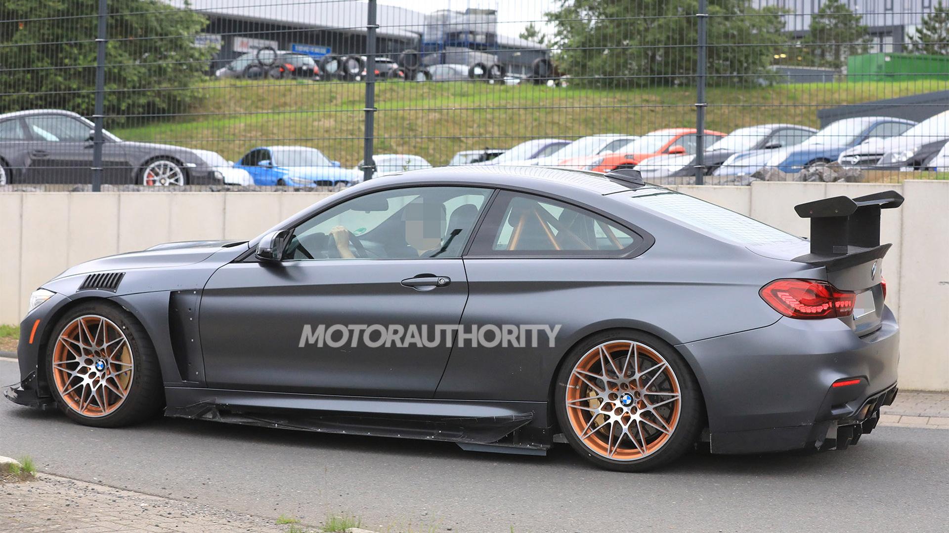 Mystery BMW M4 GTS spy shots - Image via S. Baldauf/SB-Medien