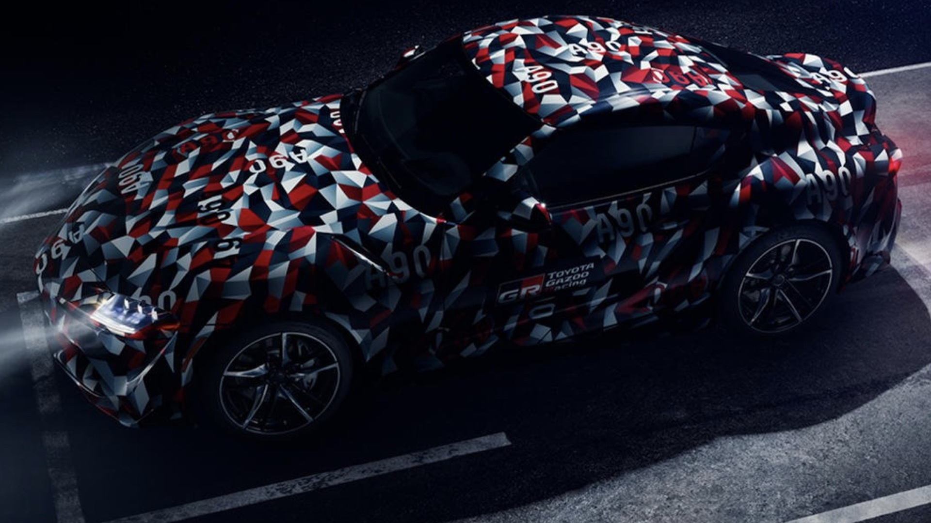 Toyota Supra teased for Goodwood Festival of Speed