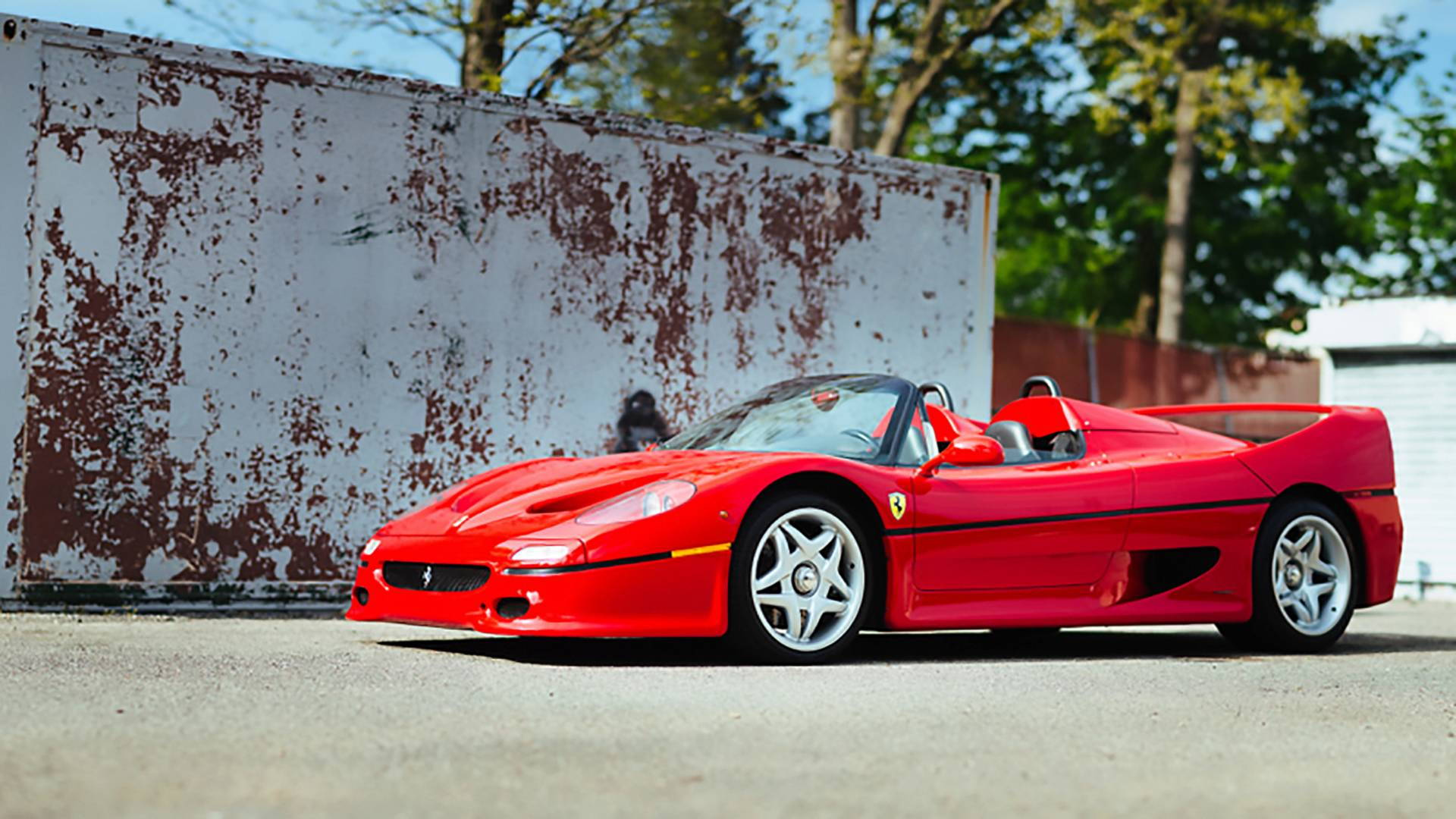 1995 Ferrari F50 prototype bearing chassis No. 99999