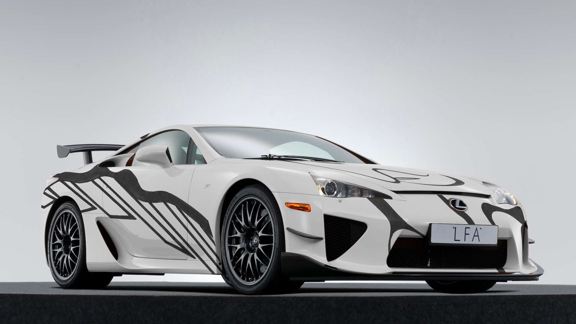 Lexus LFA Art Car celebrates 10 years of F performance division