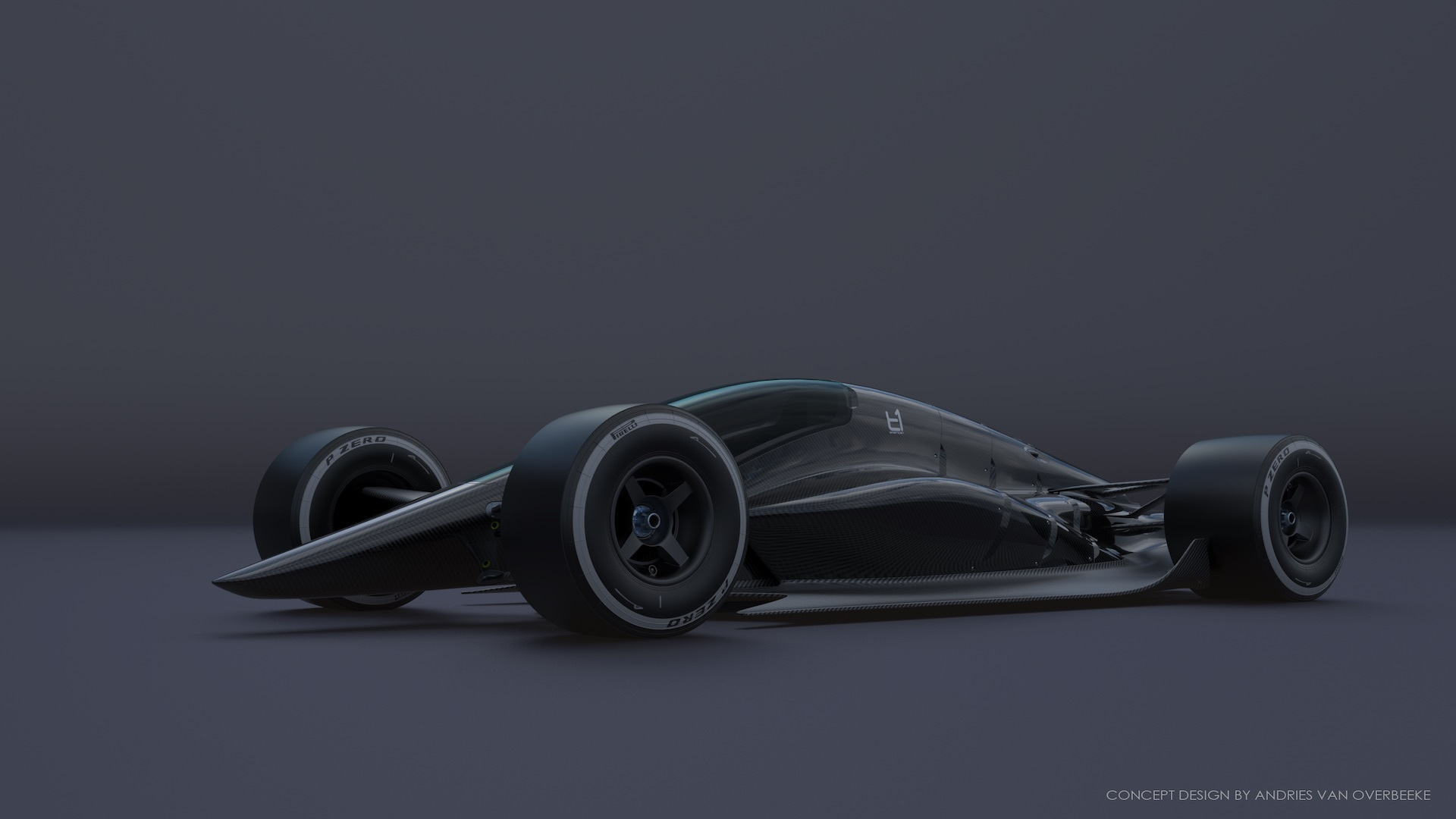T1 Turbine concept race car