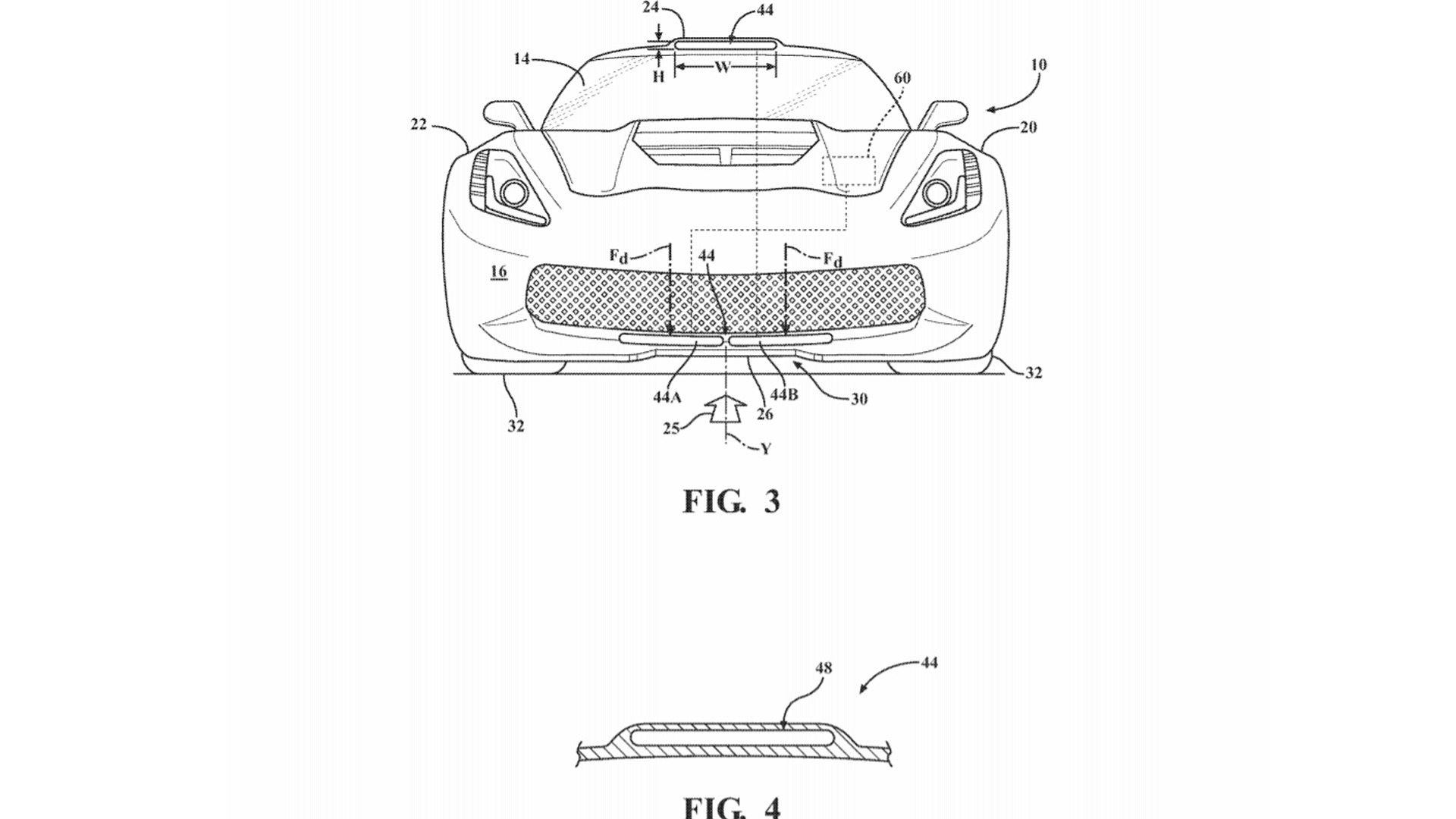 Patent for Downforce Generating Duct filed by General Motors